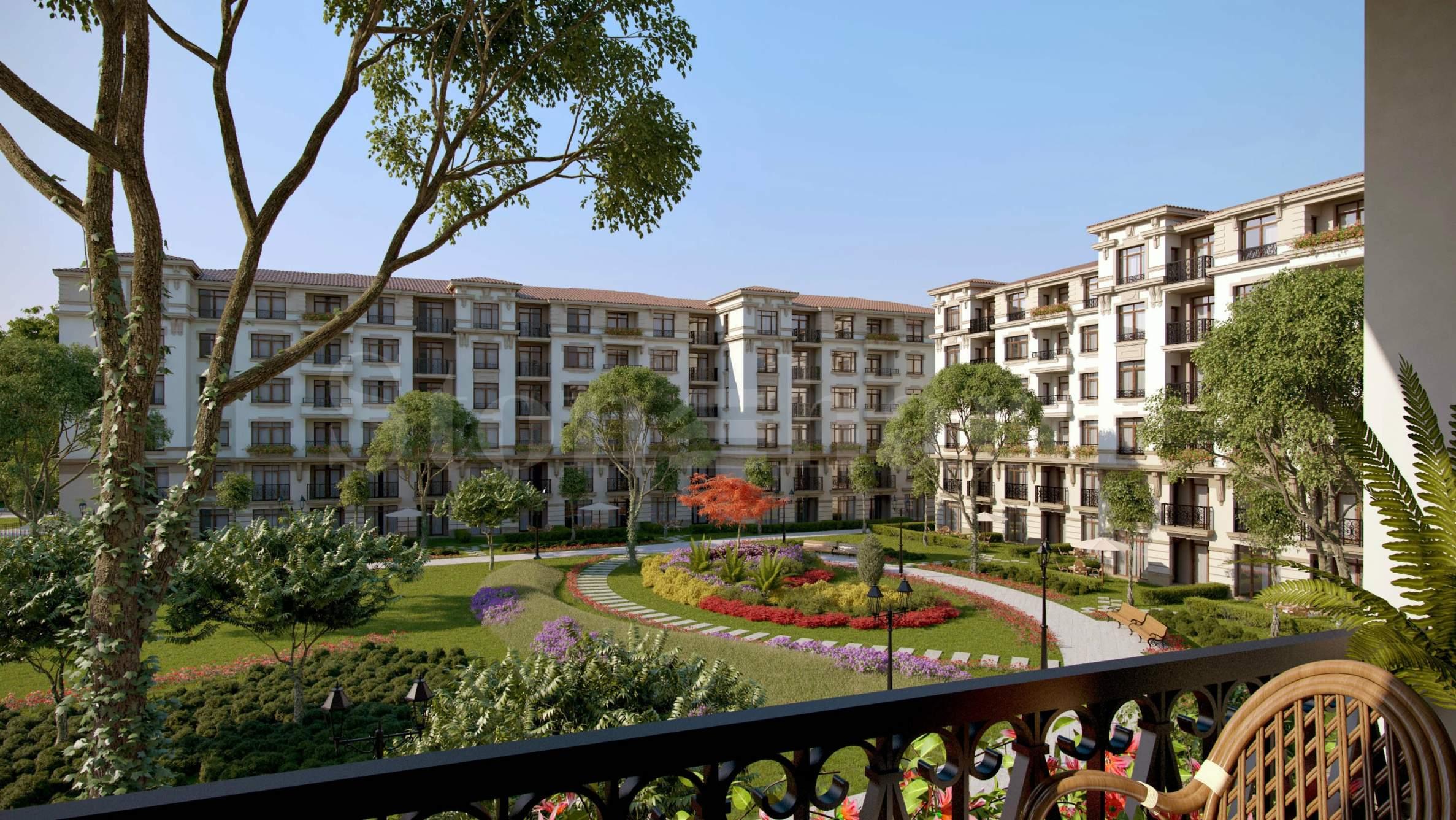 Апартаменти до плажа в комплекс Айвазовски Парк1 - Stonehard