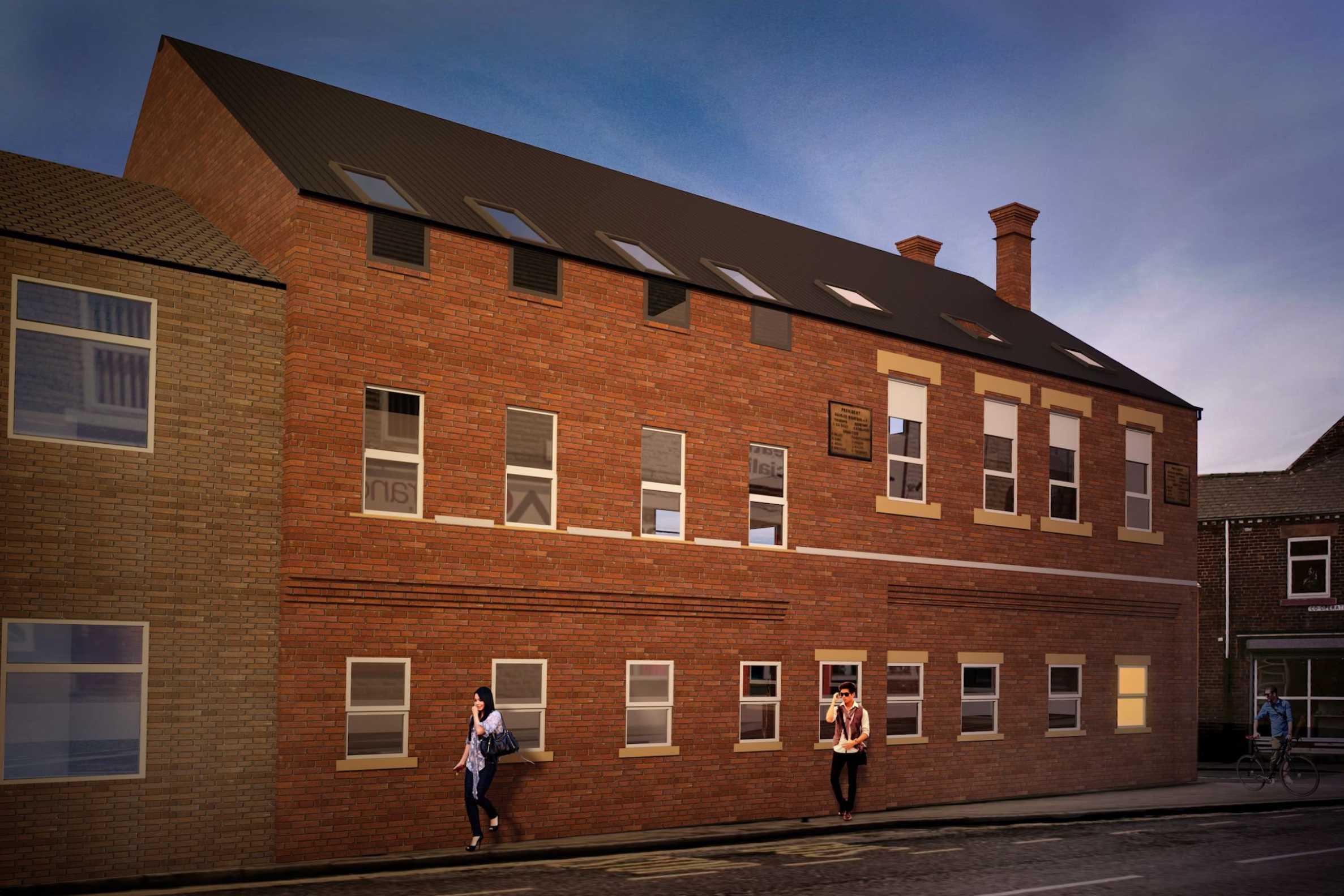 Residential development near Sheffield2 - Stonehard