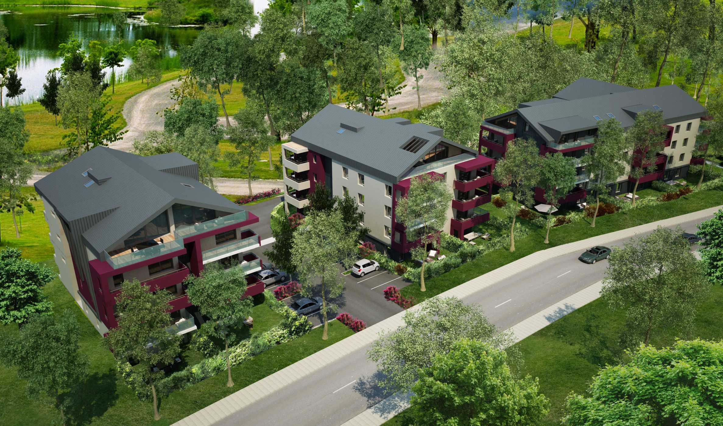 Family apartment complex in Annemasse (FR) near Geneva1 - Stonehard