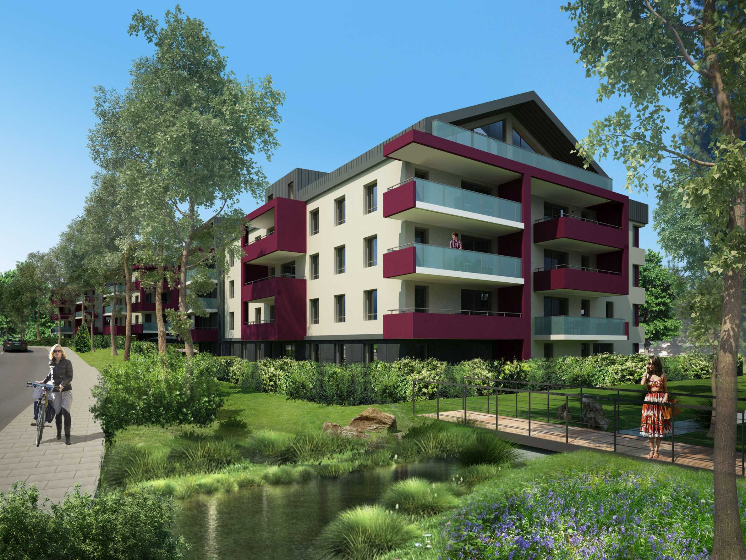 Family apartment complex in Annemasse (FR) near Geneva2 - Stonehard