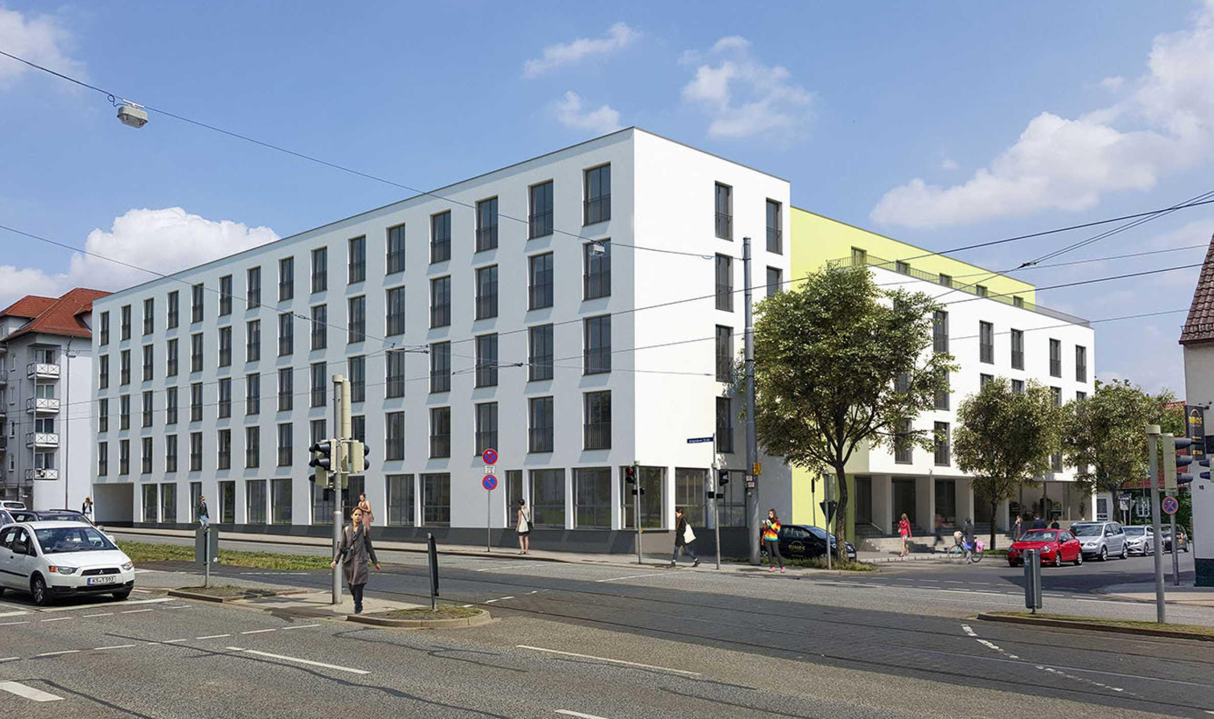 Student apartments near the University of Kassel1 - Stonehard