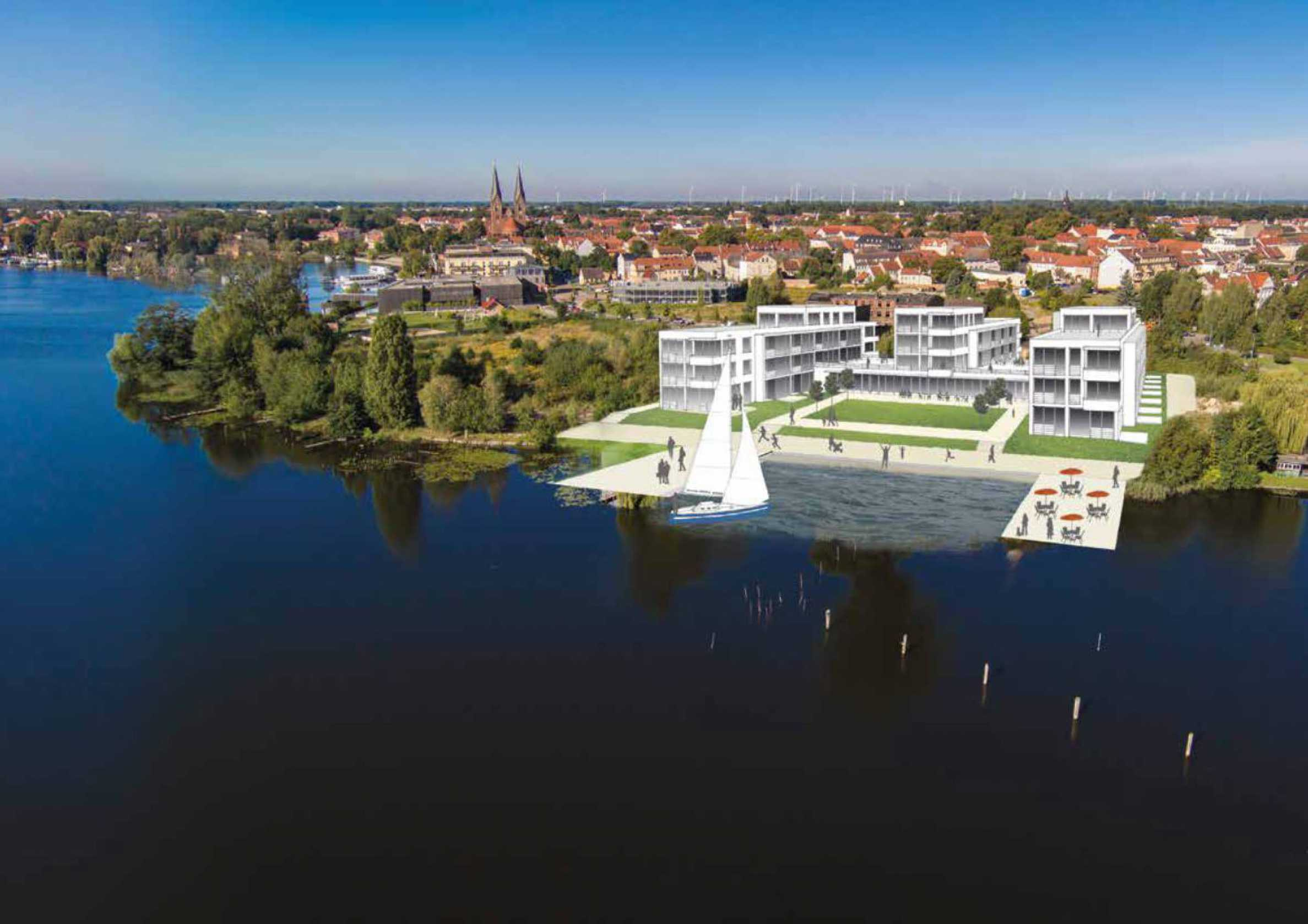 Lake residence near Berlin with yacht marina and Spa2 - Stonehard