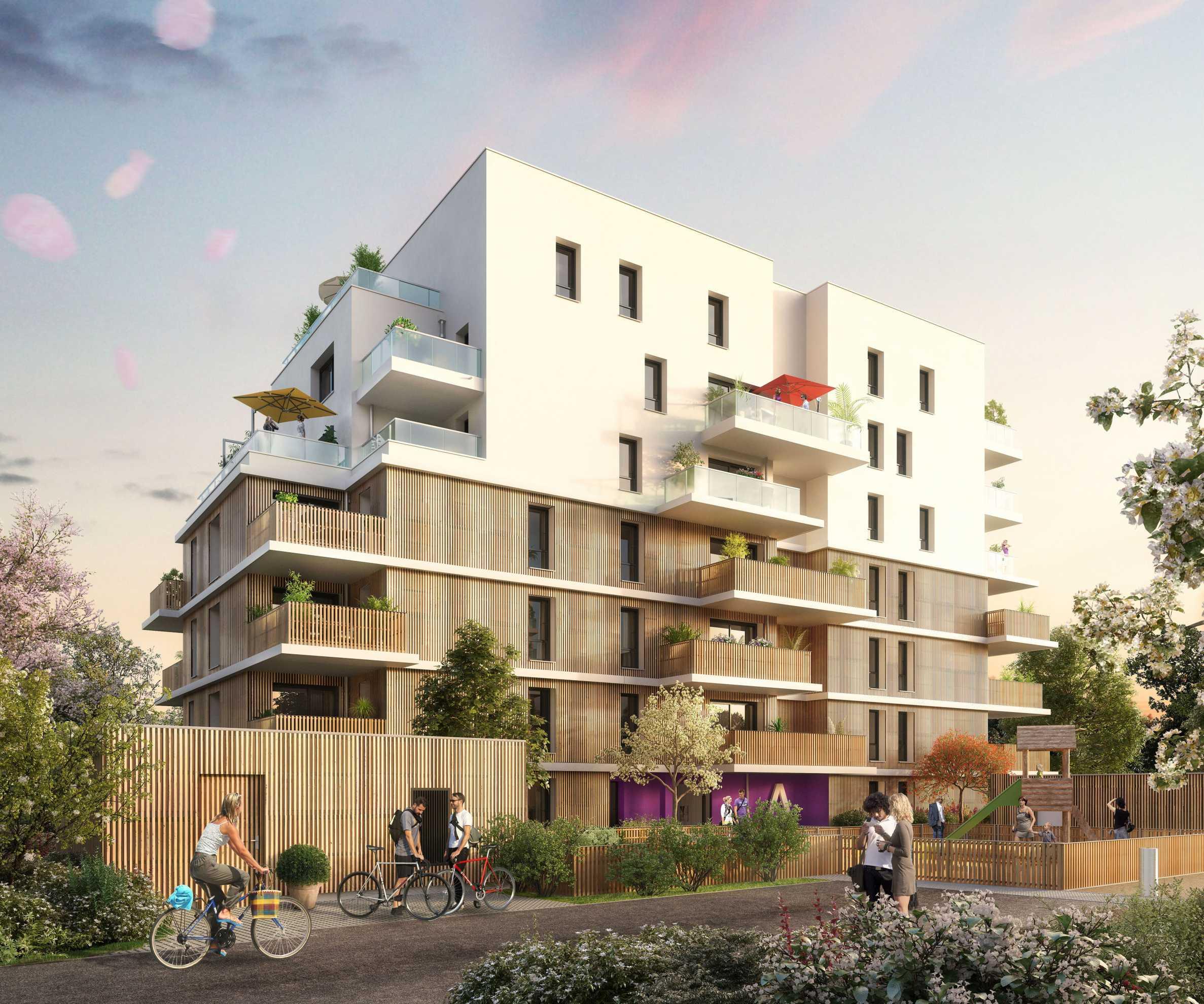 Нови апартаменти във френски град на 6 км от Женева2 - Stonehard