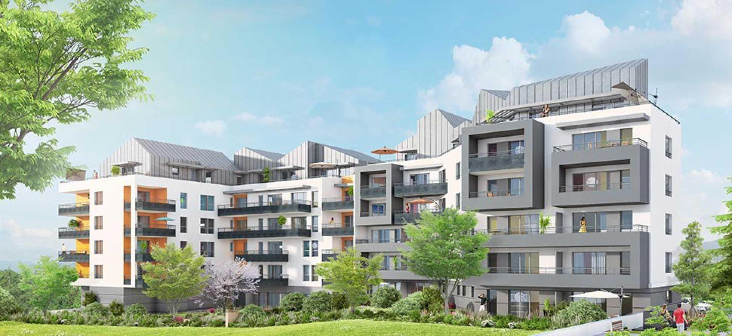 Нов жилищен комплекс до планина във френски град до Женева1 - Stonehard