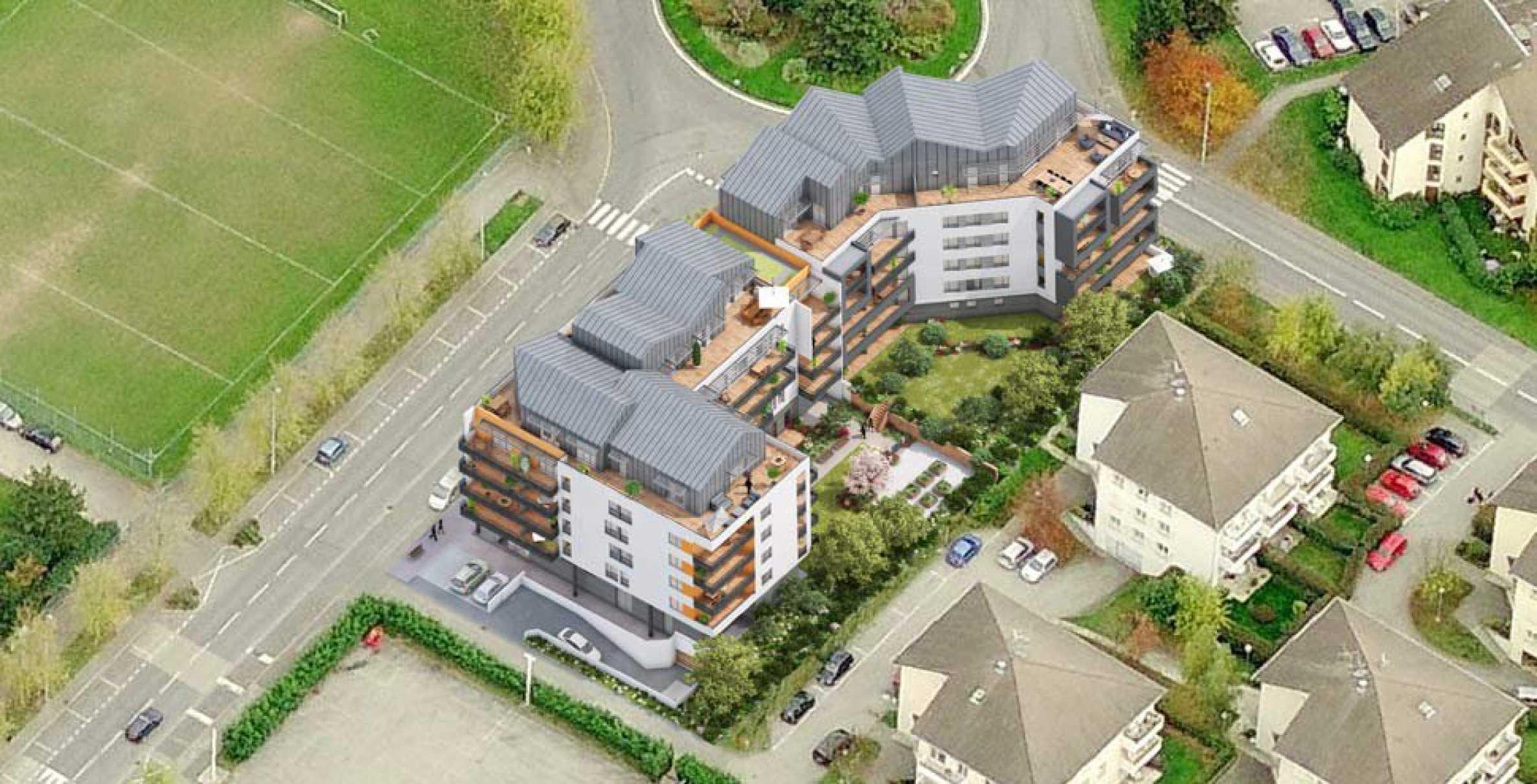Нов жилищен комплекс до планина във френски град до Женева2 - Stonehard