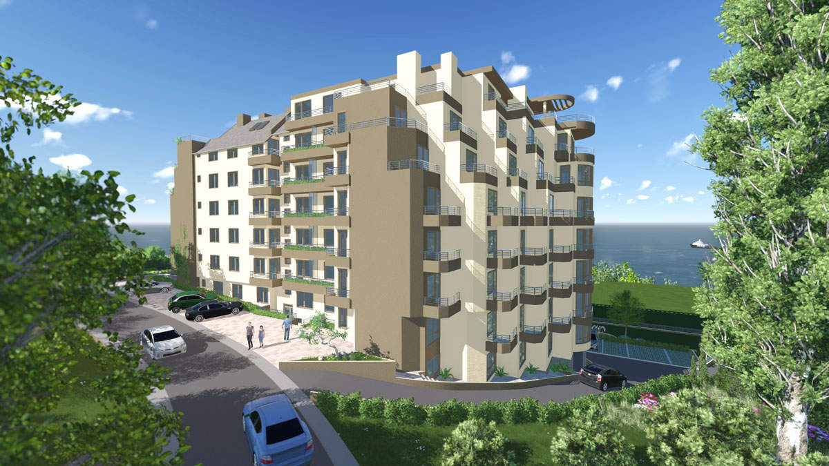 Residential building in the sea capital of Bulgaria2 - Stonehard