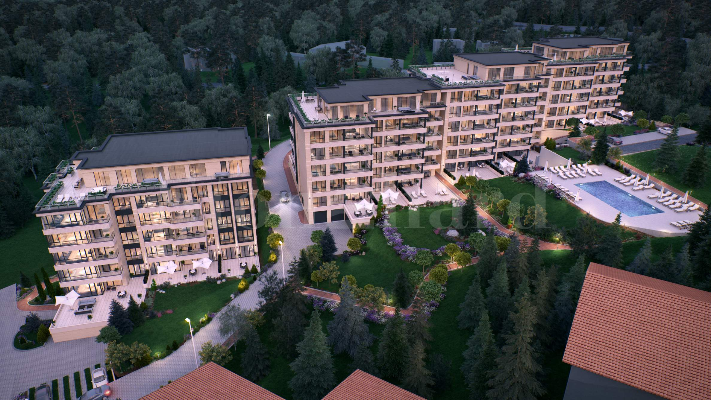 Luxury residential complex in Sofia's premium district of Boyana1 - Stonehard