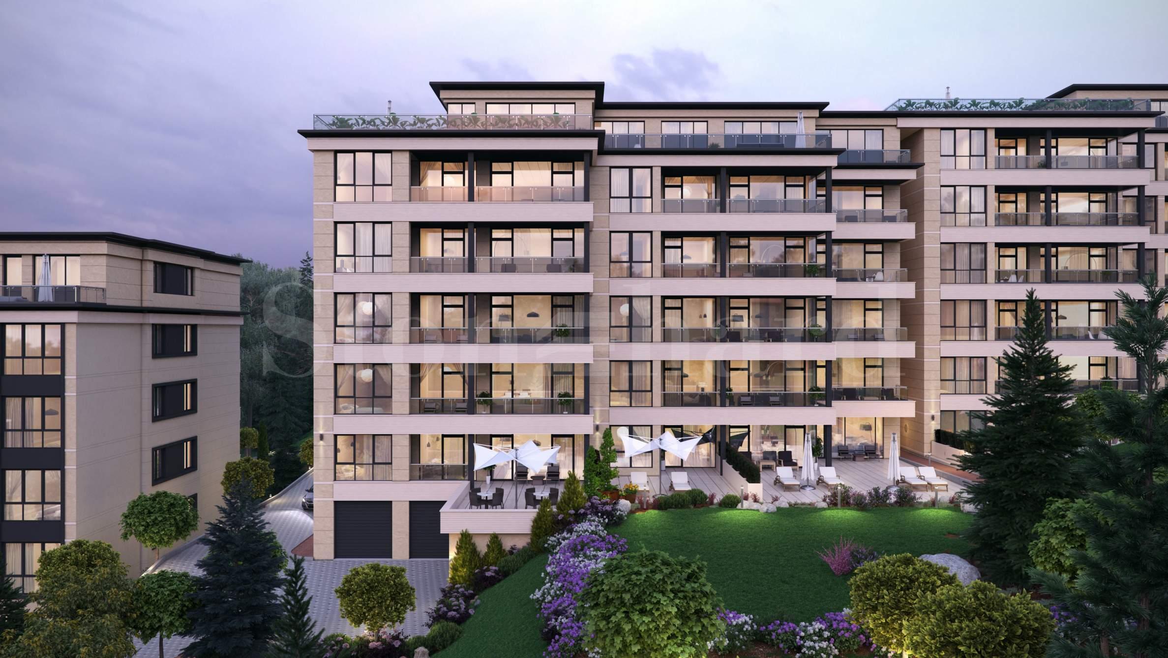 Luxury residential complex in Sofia's premium district of Boyana2 - Stonehard