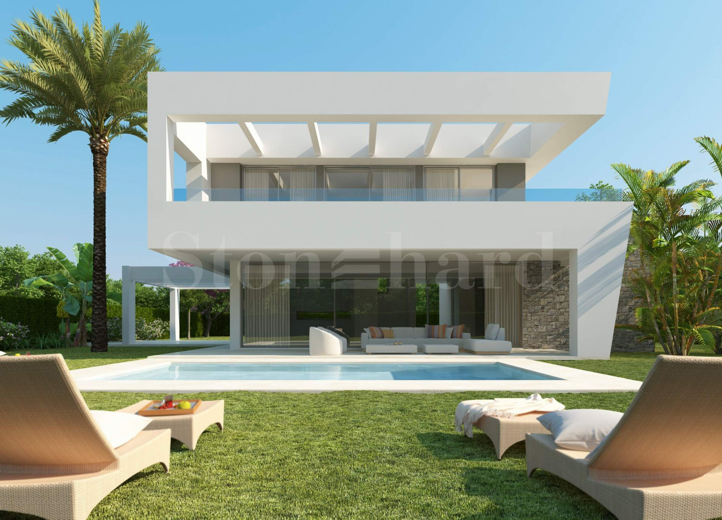 Luxury villas with private pools in a valley between sea & mountain1 - Stonehard