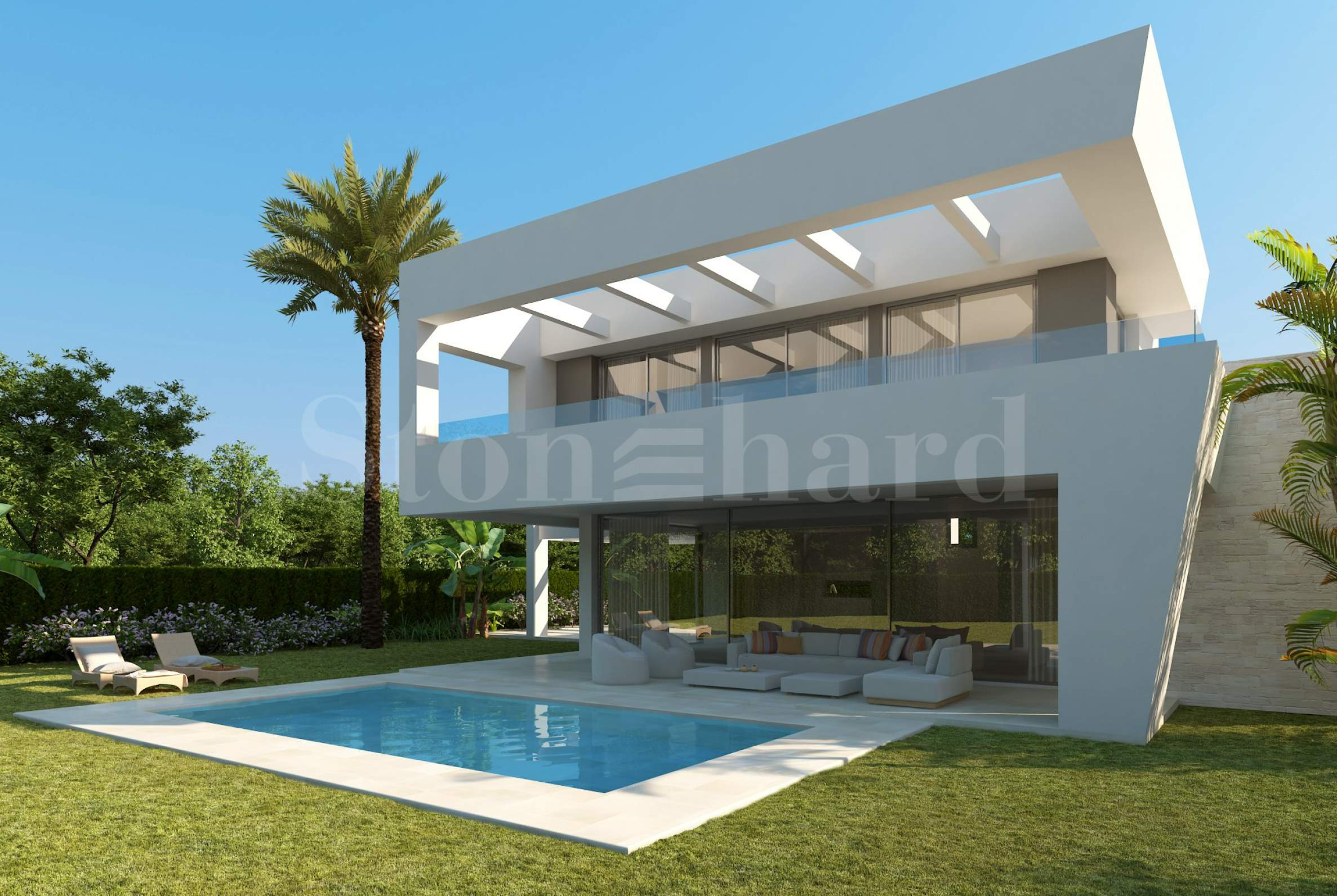 Luxury villas with private pools in a valley between sea & mountain2 - Stonehard