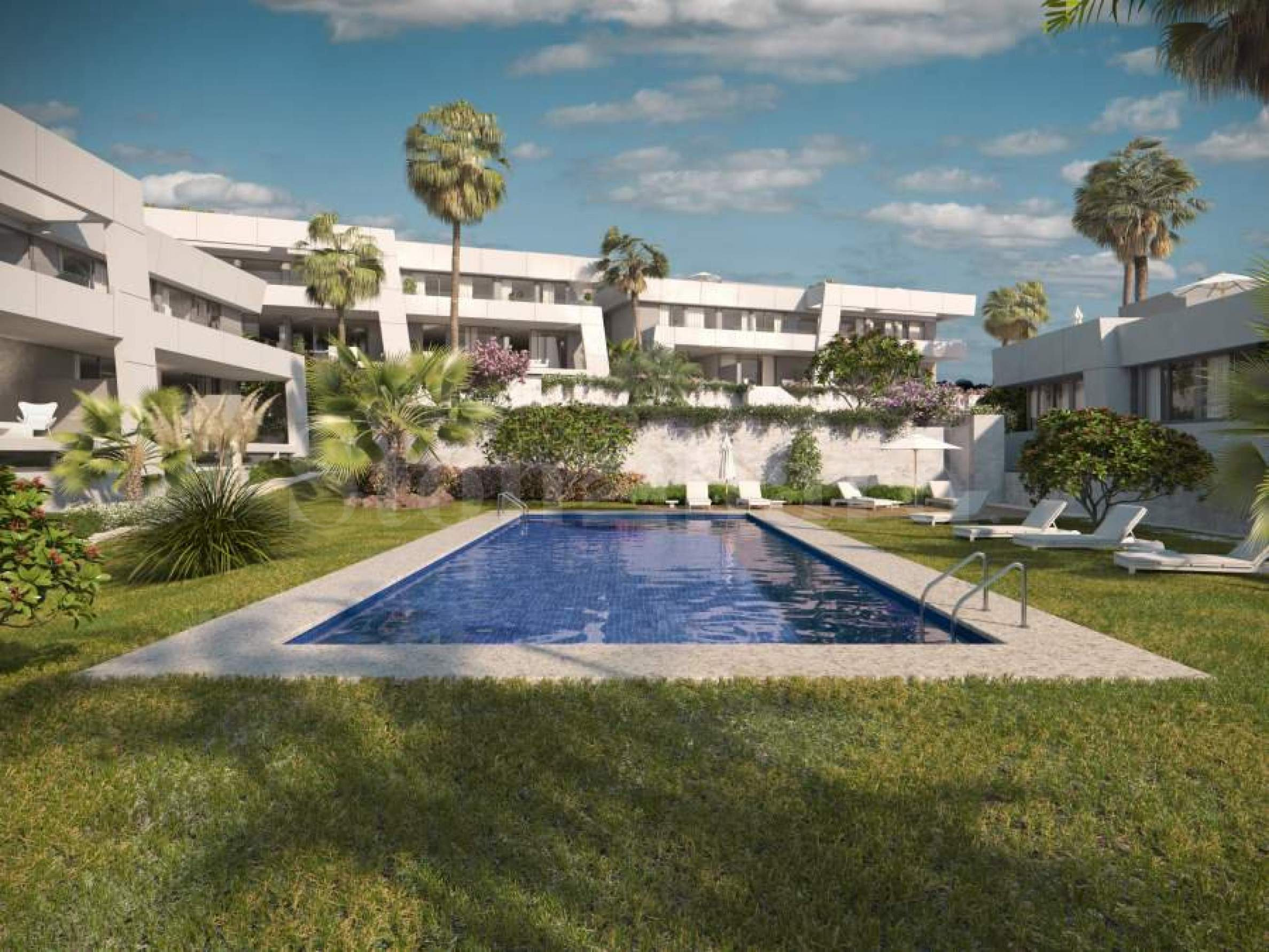 Townhouses with cutting edge design near Marbella2 - Stonehard