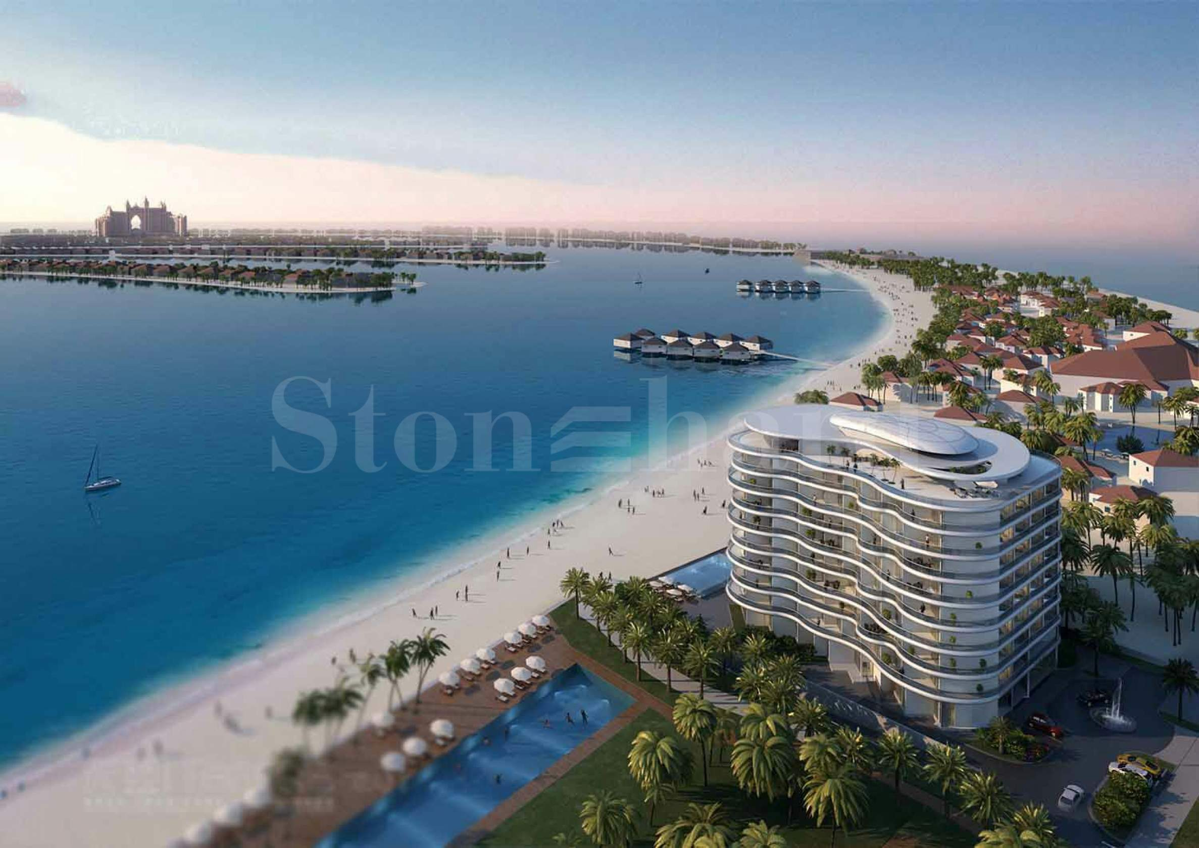 Luxury serviced residences on the Palm Jumeirah1 - Stonehard