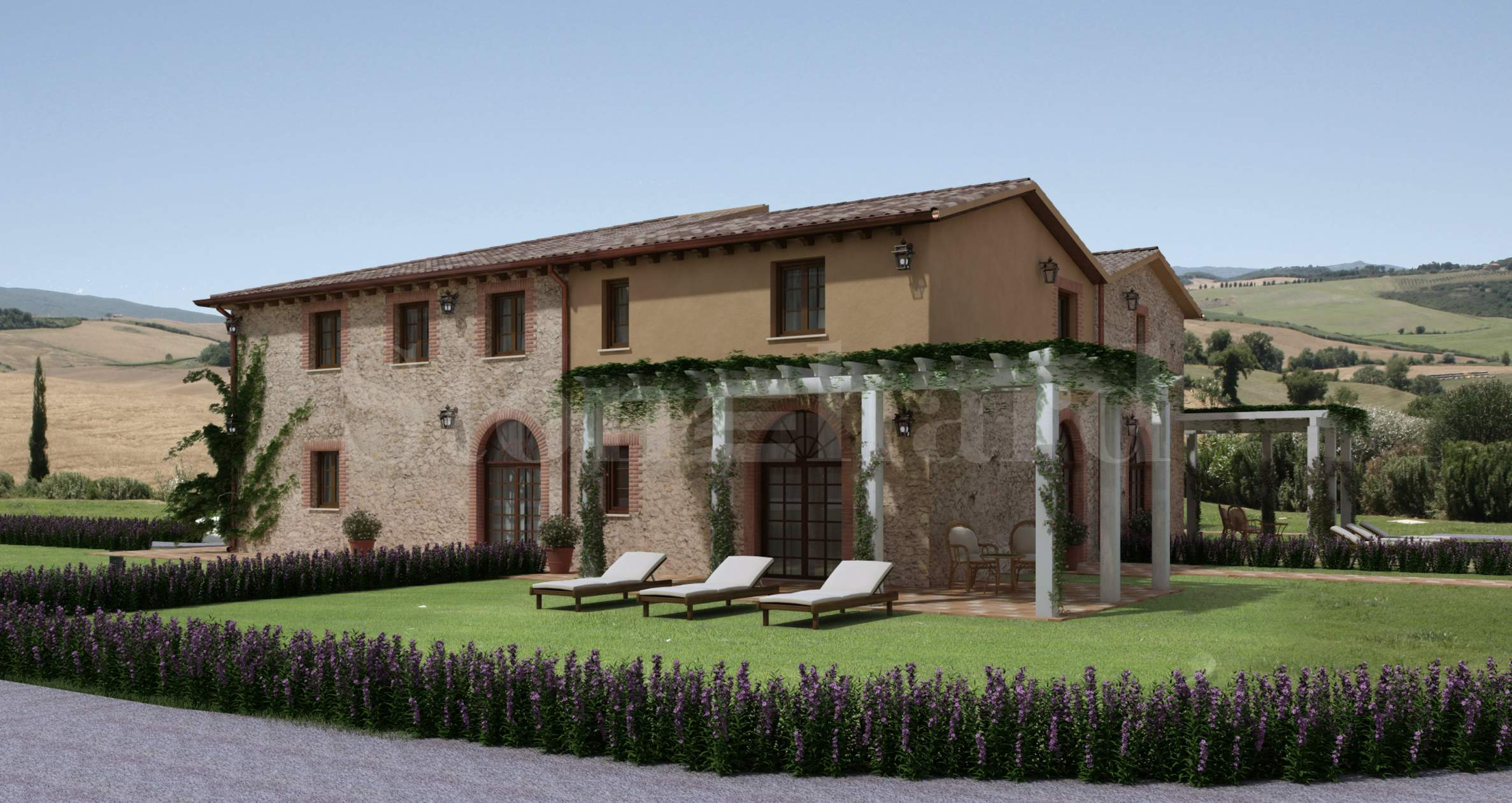 Podere Quercerto: комфортни апартаменти в Тоскана 1 - Stonehard