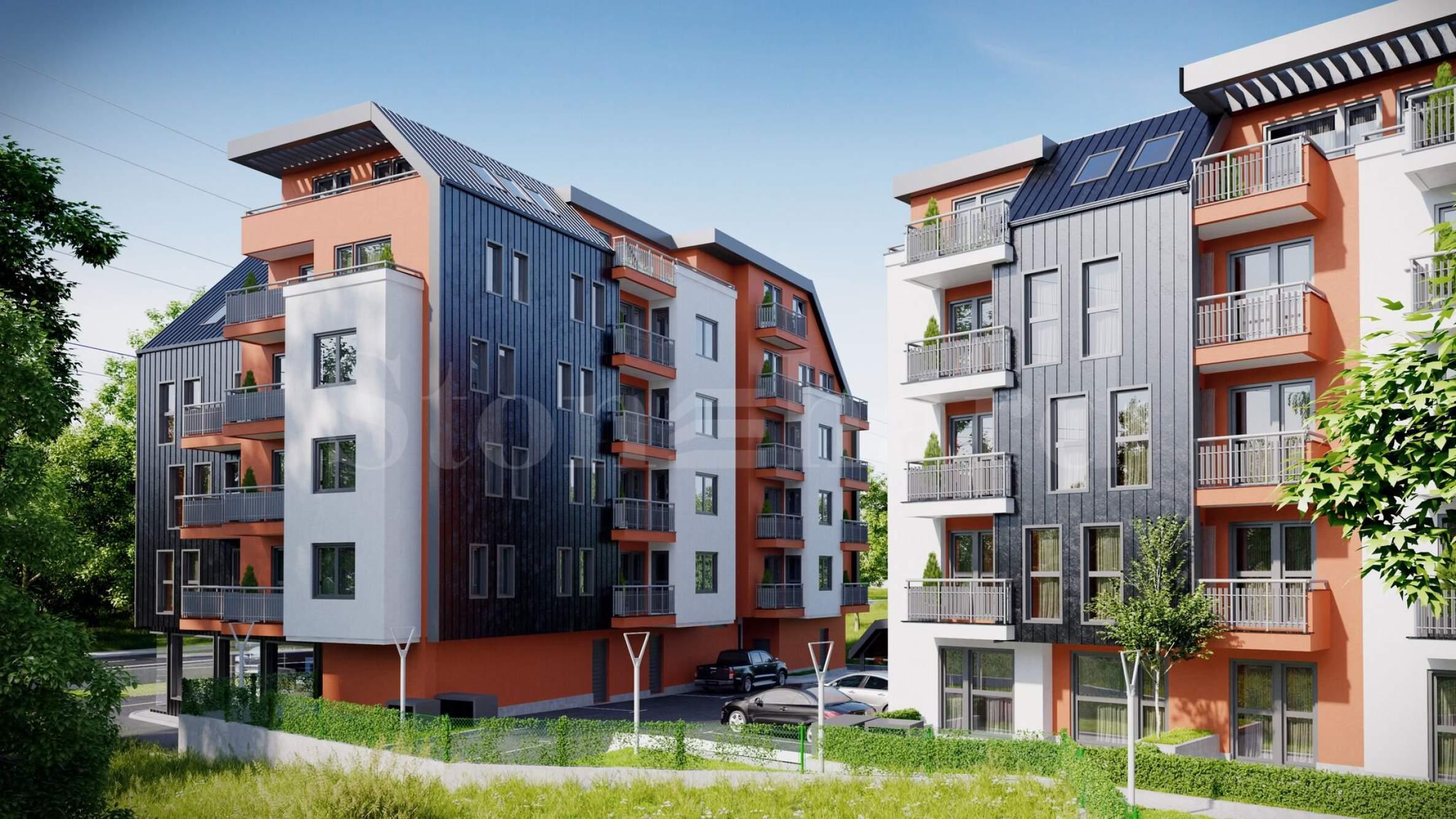 Модерен жилищен комплекс до Зоопарка и Симеоновско шосе1 - Stonehard