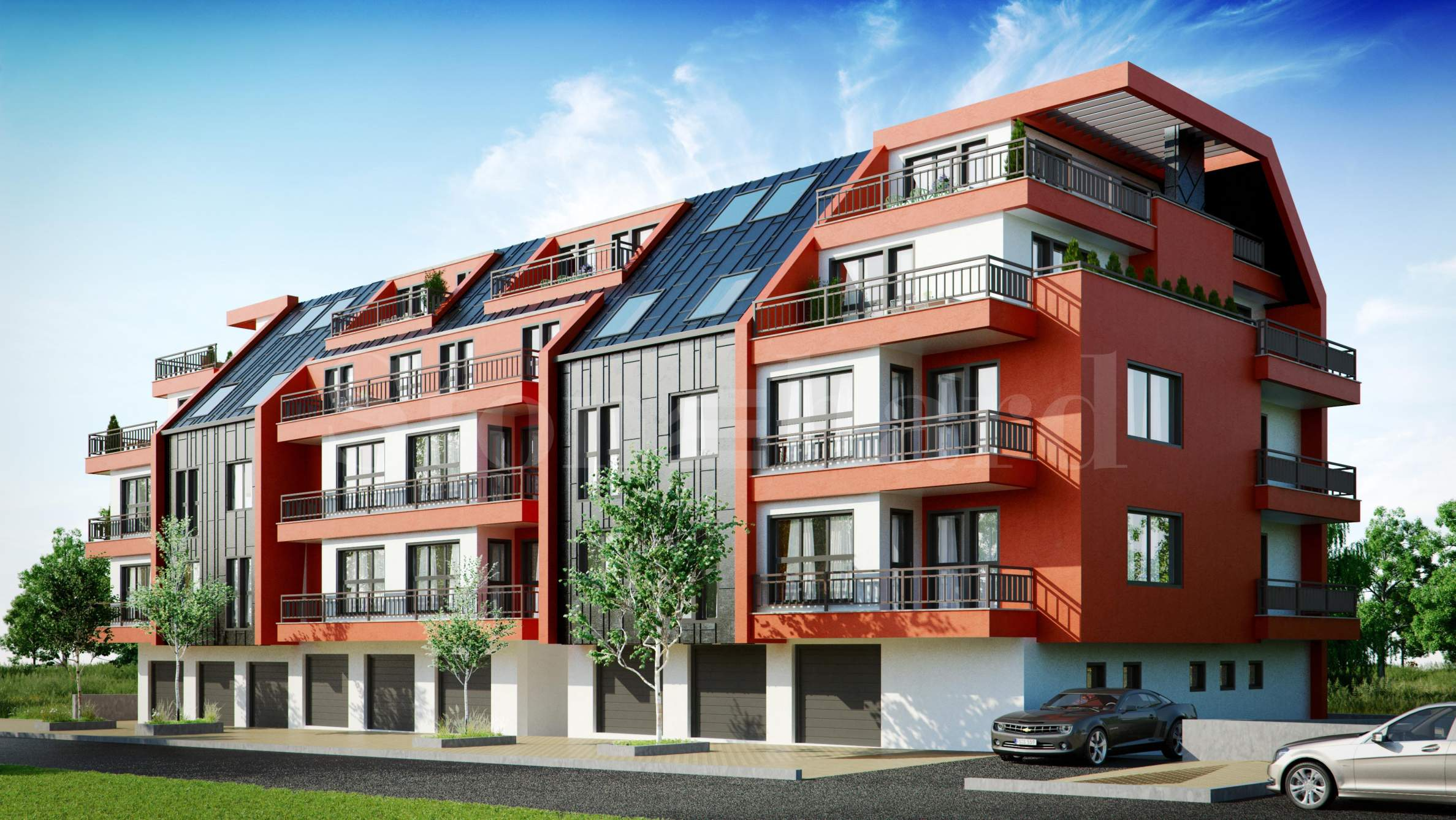 New apartments with garages in a preferred quarter1 - Stonehard
