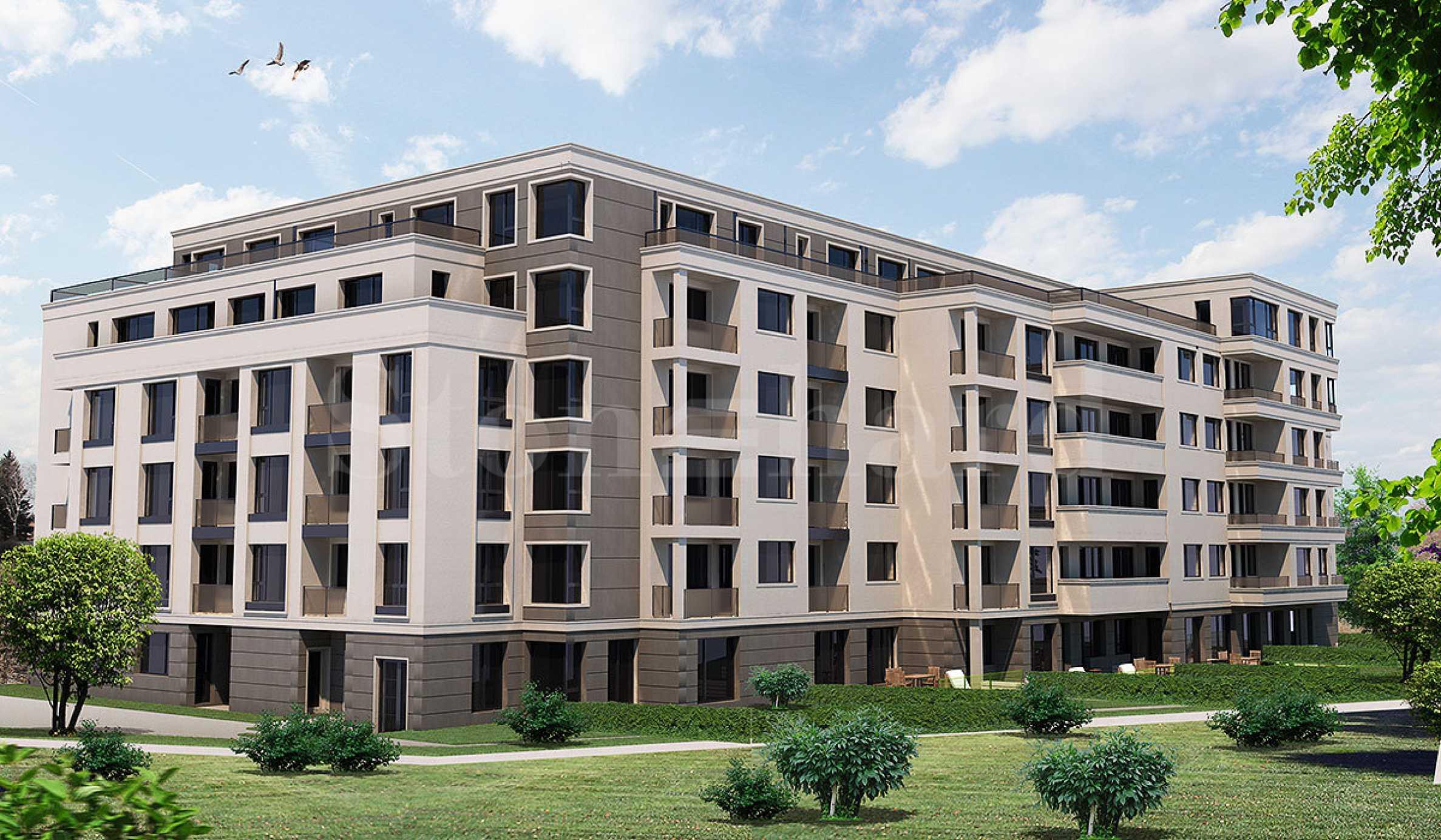 Елегантни апартаменти в модерна сграда до мол и метростанция  1 - Stonehard