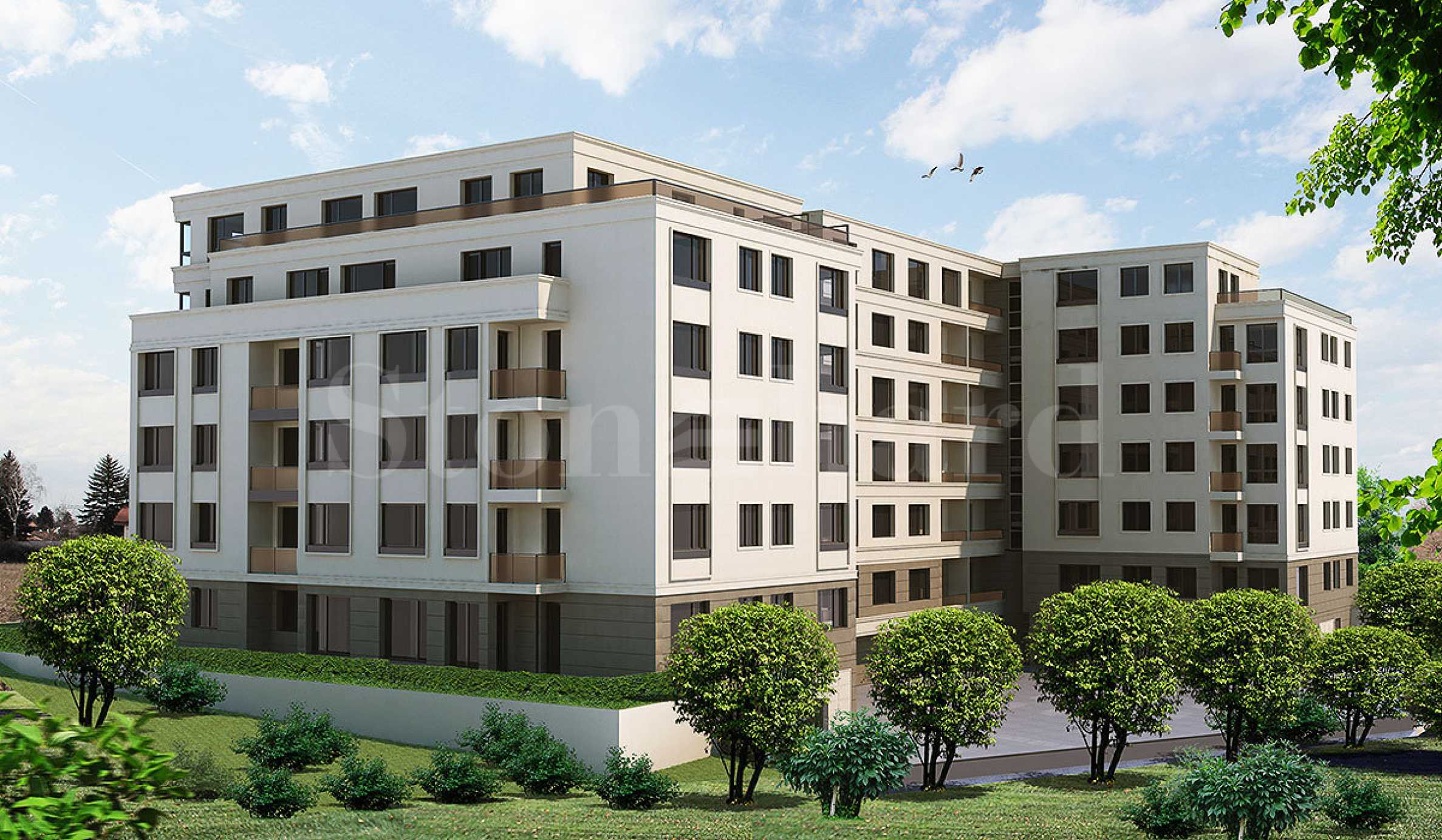 Елегантни апартаменти в модерна сграда до мол и метростанция  2 - Stonehard
