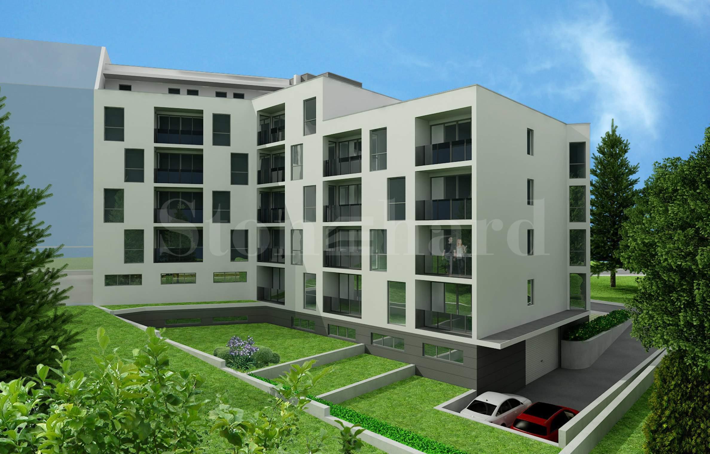 Модерна жилищна сграда на шест етажа в кв. Овча Купел2 - Stonehard