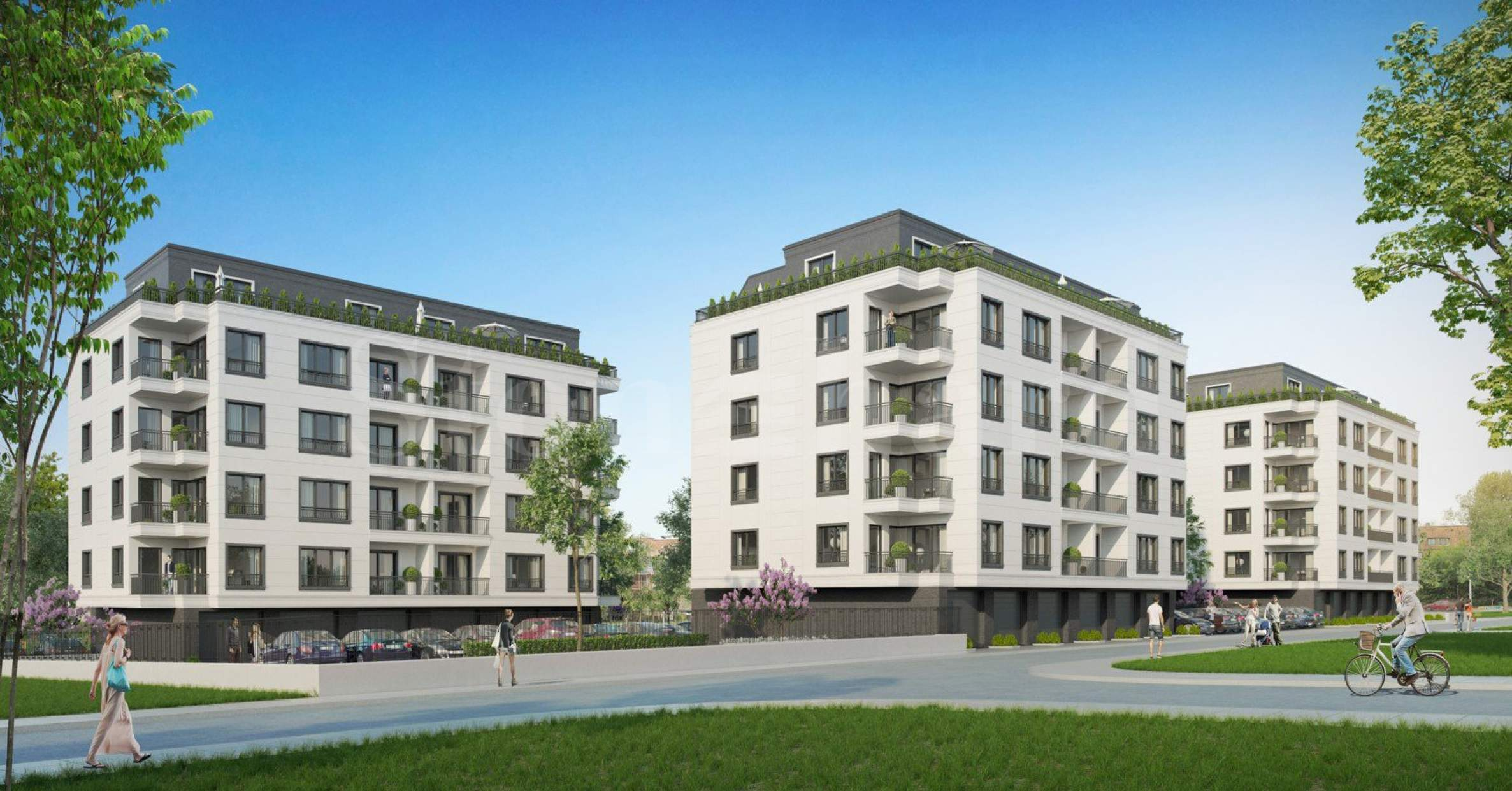 Stylish apartments in a high-end complex near Paradise Center mall1 - Stonehard