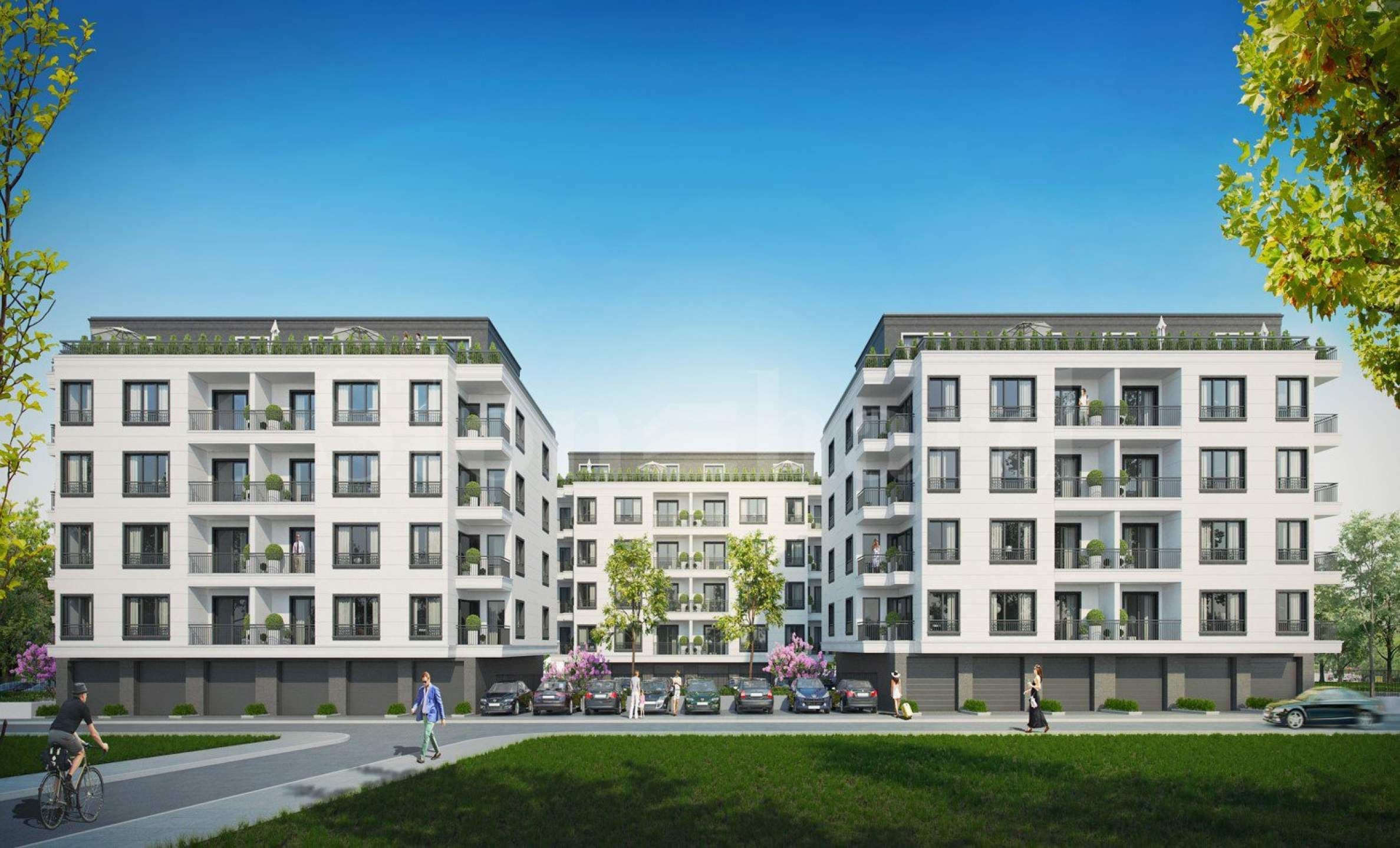 Stylish apartments in a high-end complex near Paradise Center mall2 - Stonehard