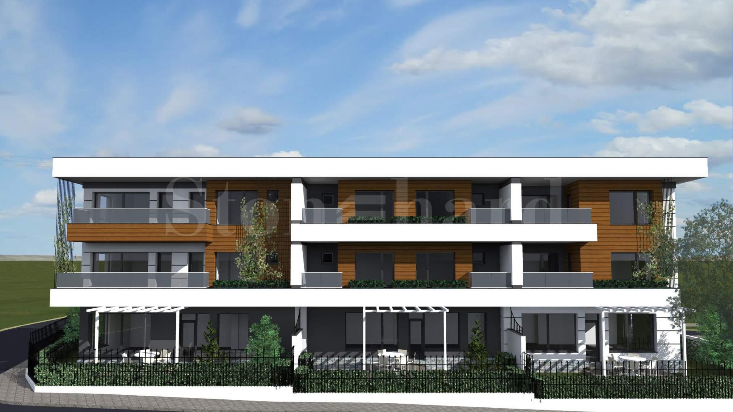 Бутиков комплекс от къщи с отлична локация до Парадайс Център2 - Stonehard
