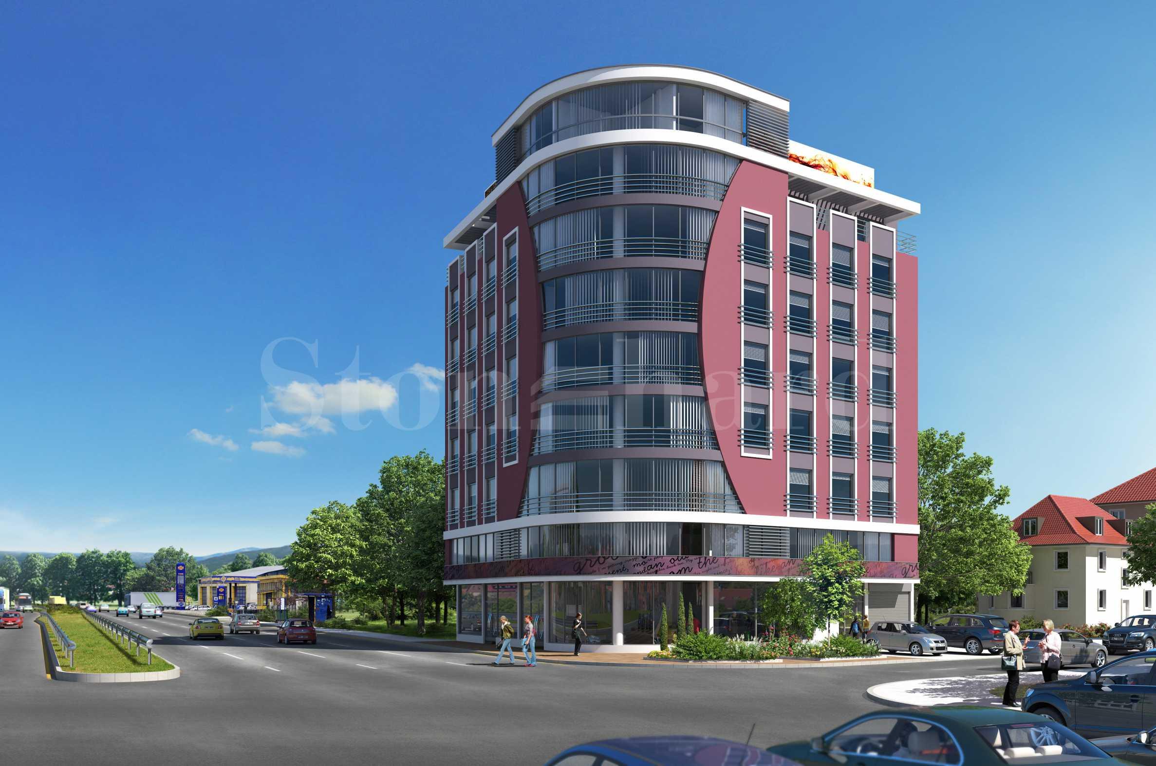 Large building on Tsarigradsko Shosse Blvd.1 - Stonehard
