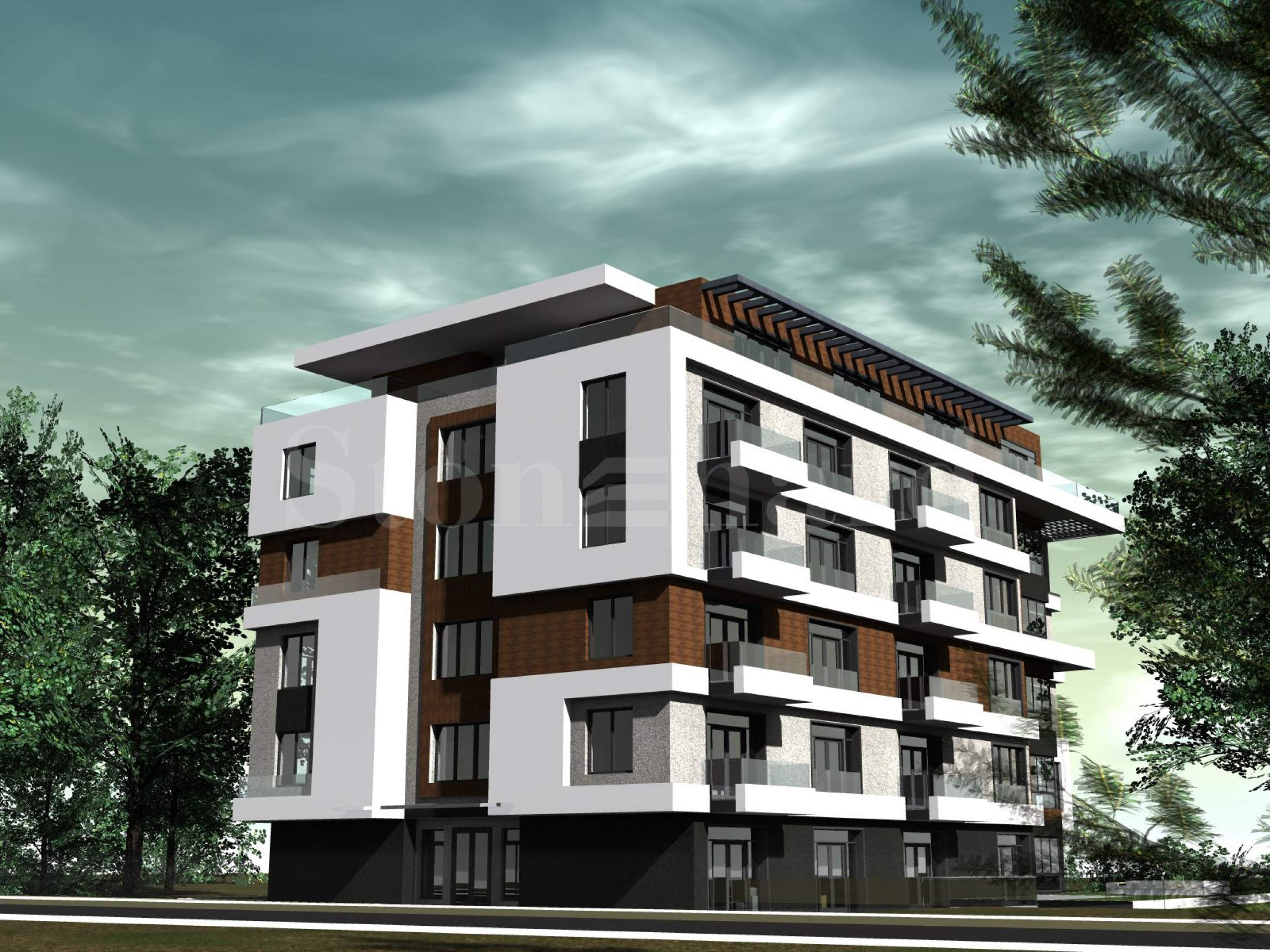 Elegant residential building with nice architecture in Dianabad District1 - Stonehard