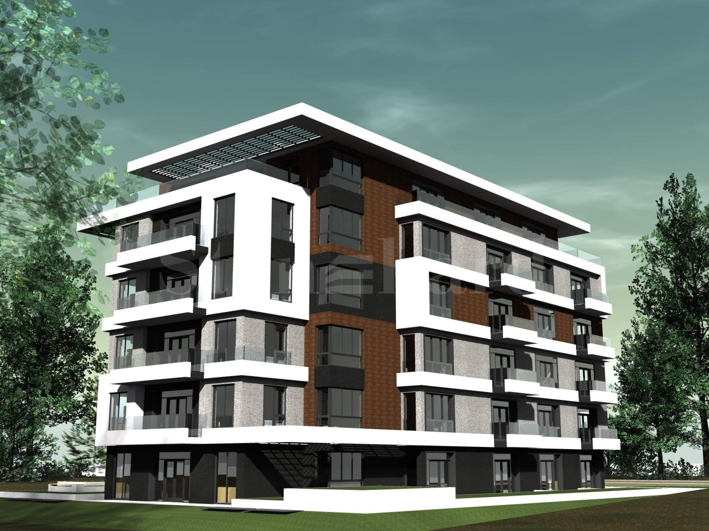 Elegant residential building with nice architecture in Dianabad District2 - Stonehard
