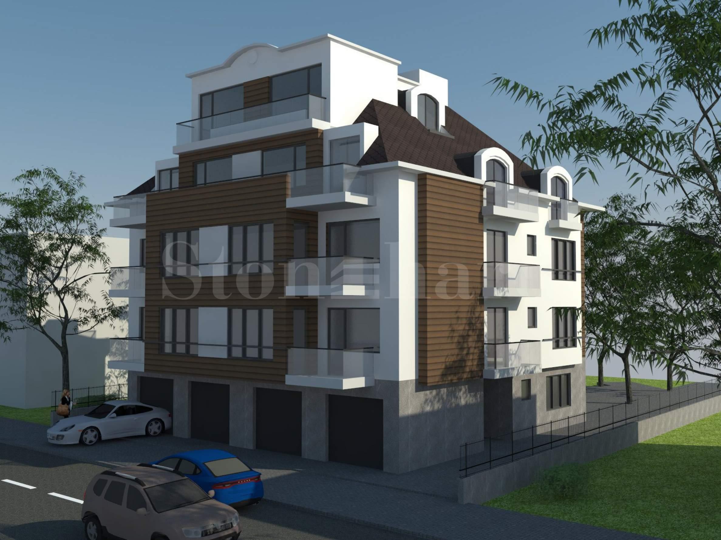 Стилна сграда с апартаменти до бул. Черни връх, кв. Кръстова вада2 - Stonehard