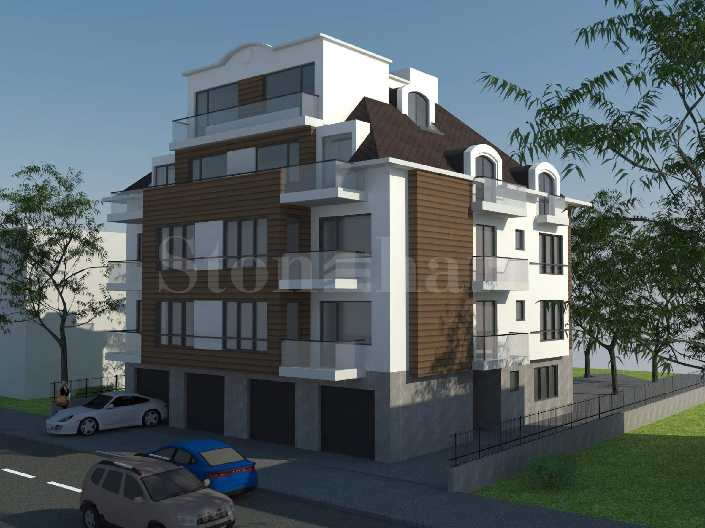 Stylish apartment building on Cherni Vrah Blvd, Krastova Vada District2 - Stonehard