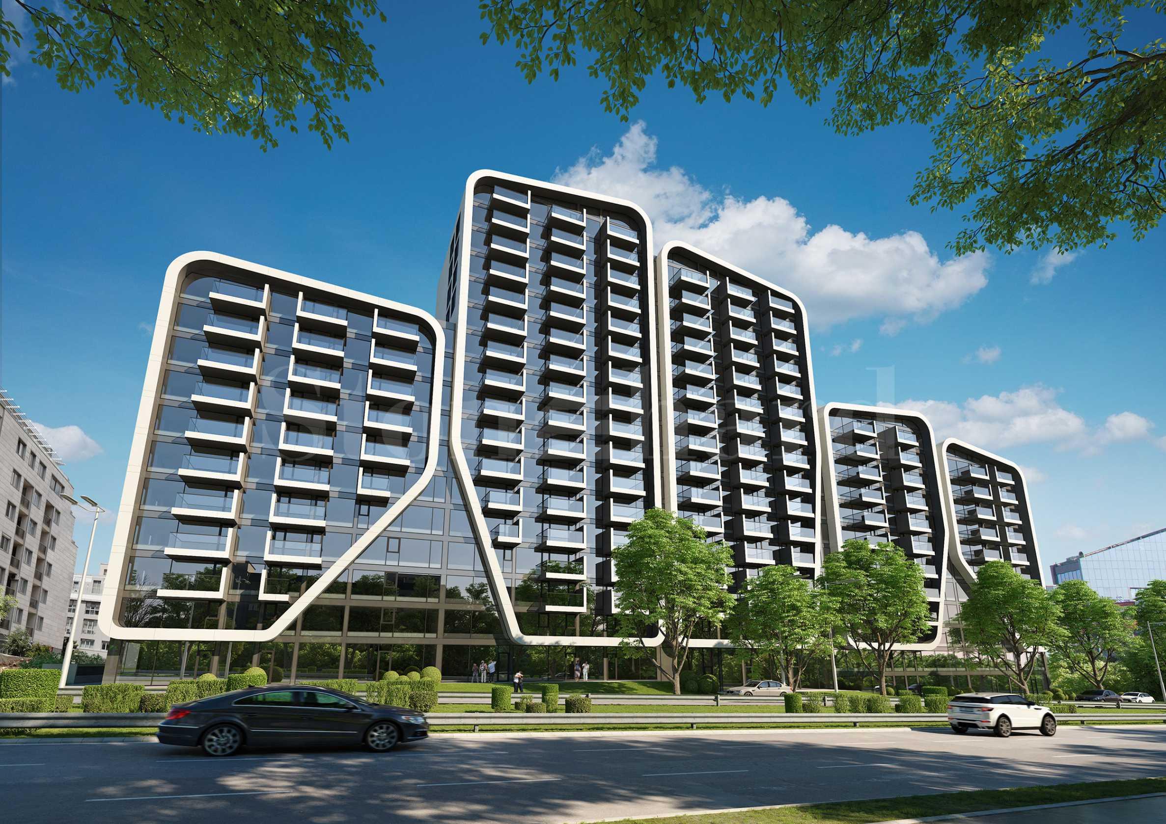Стилни апартаменти в нова сграда с уникална архитектура2 - Stonehard