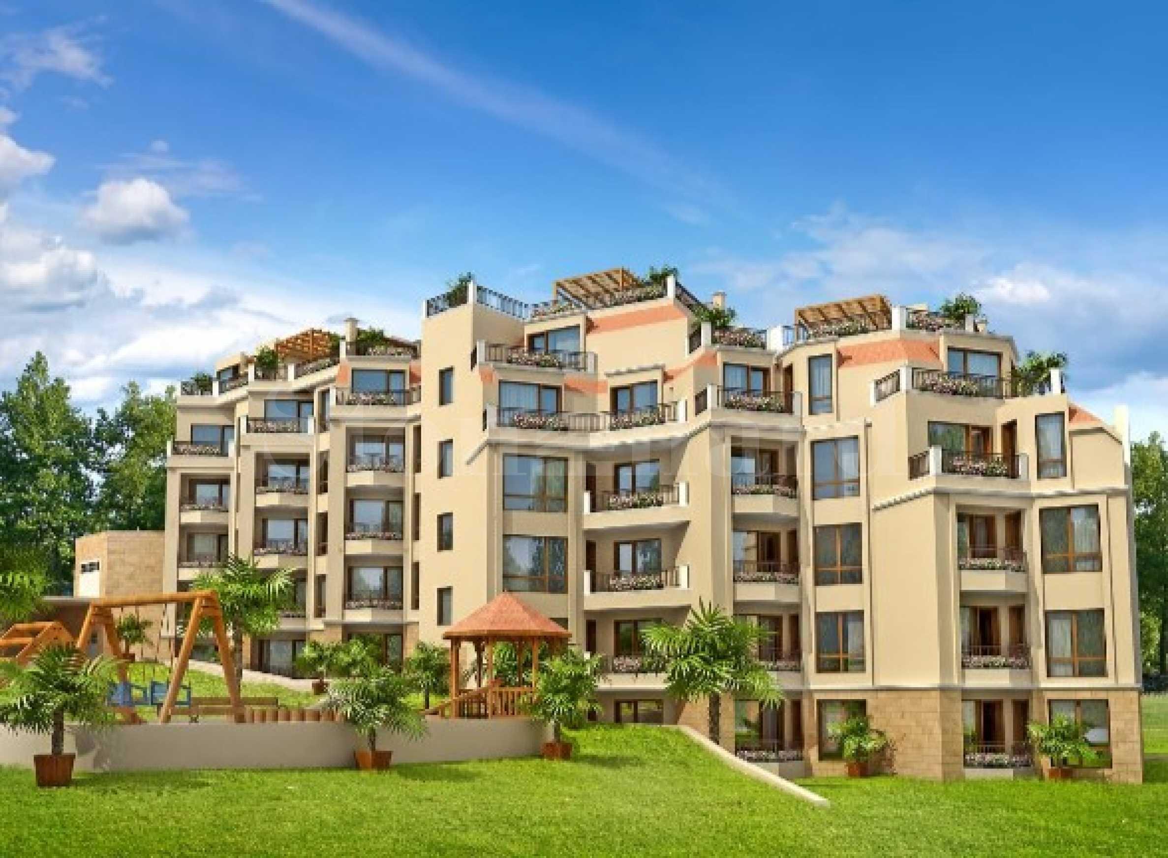 Нови апартаменти до ключ в квартал Бриз2 - Stonehard