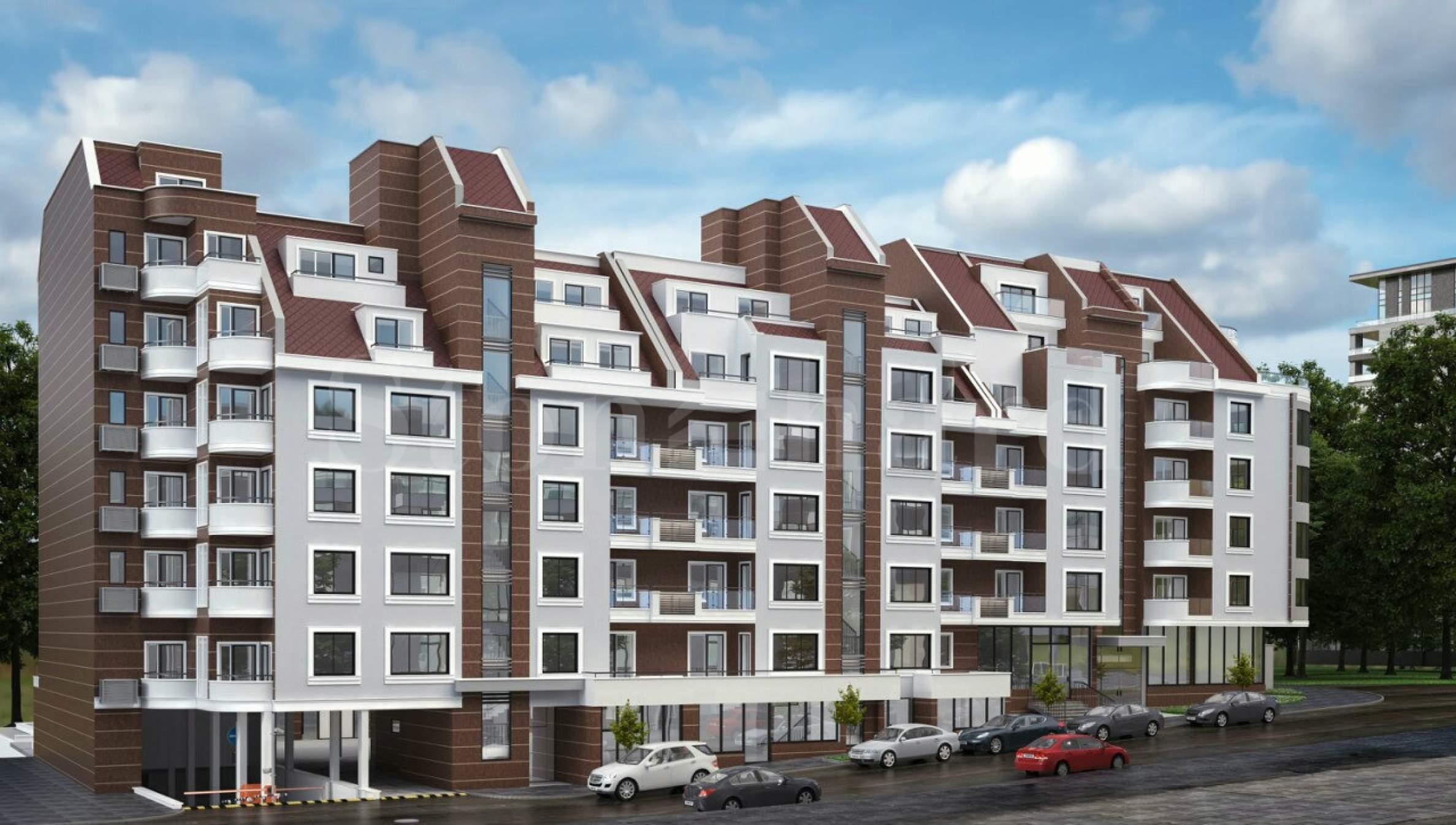 Нов комплекс близо до Технически Университет2 - Stonehard