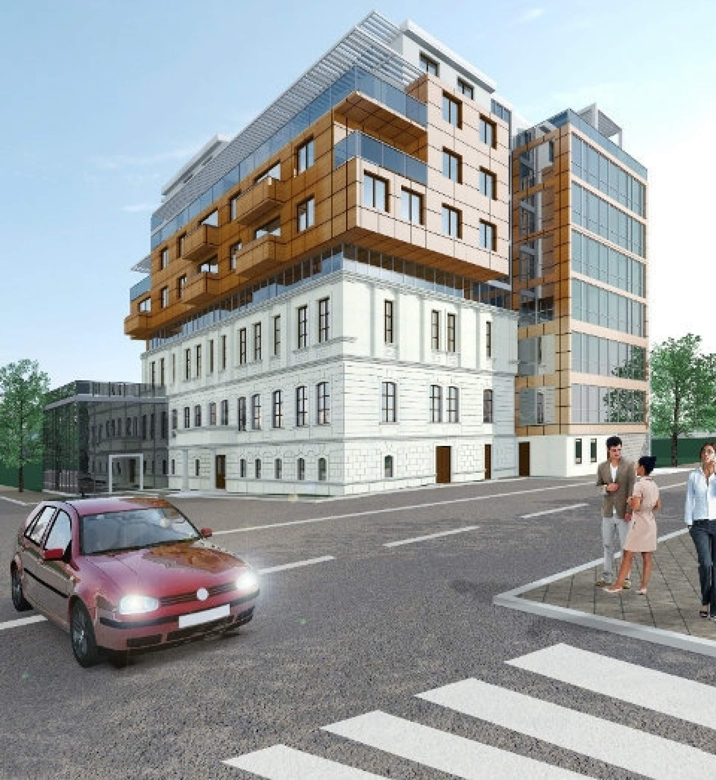 Apartments in a mixed use building in the city center2 - Stonehard
