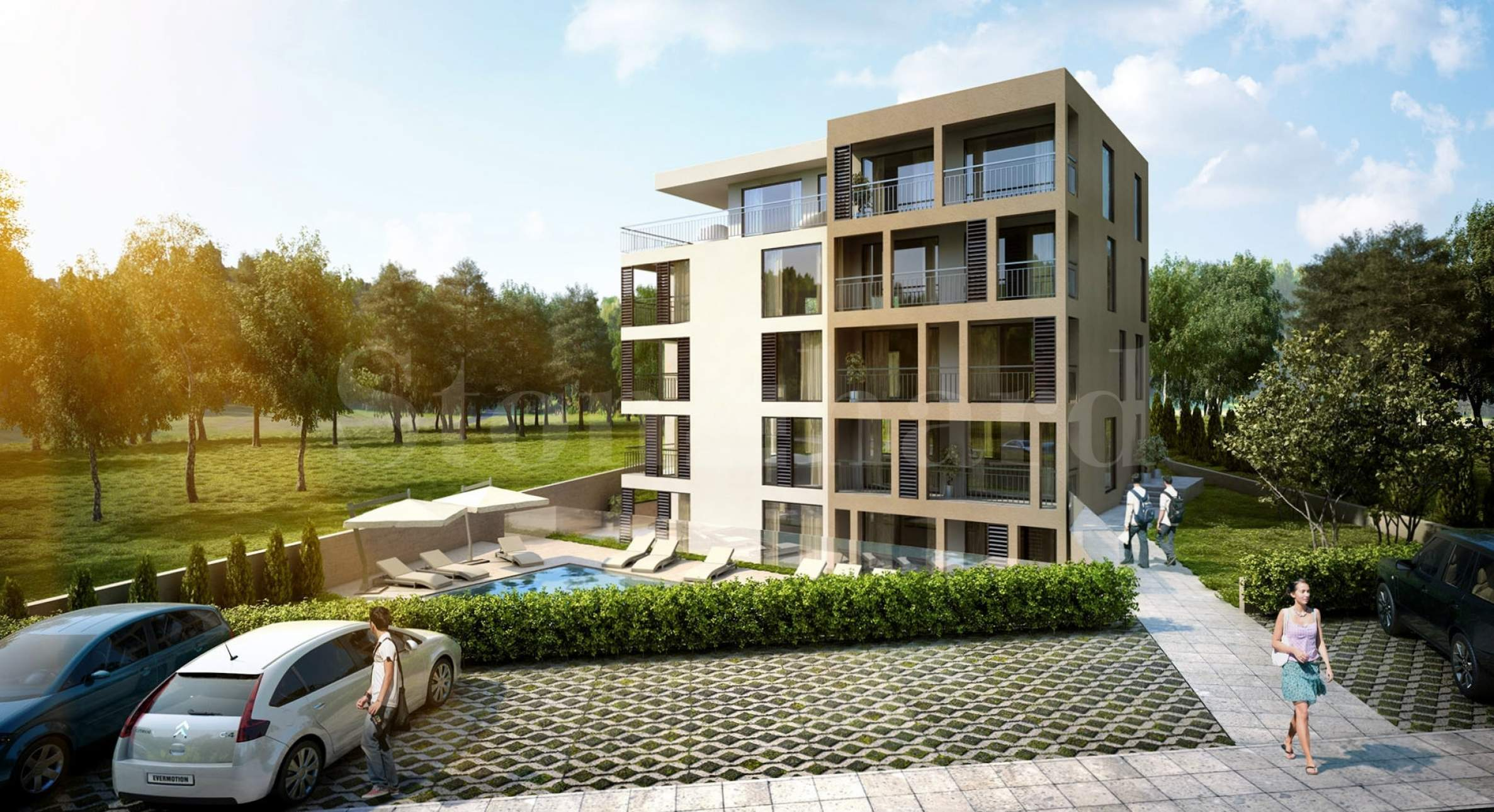 Turn-key apartments in a new gated complex1 - Stonehard