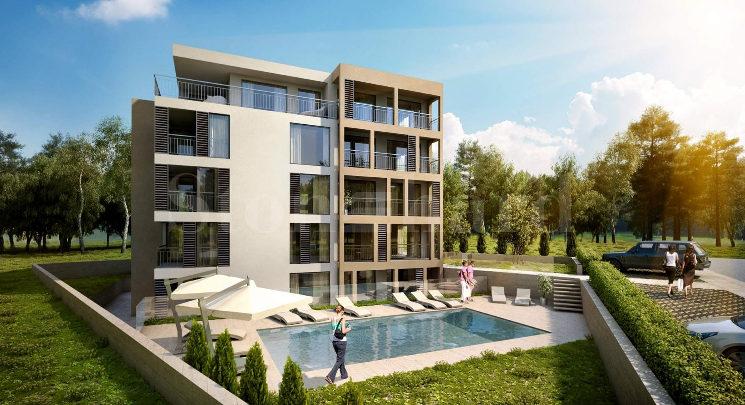 Turn-key apartments in a new gated complex2 - Stonehard
