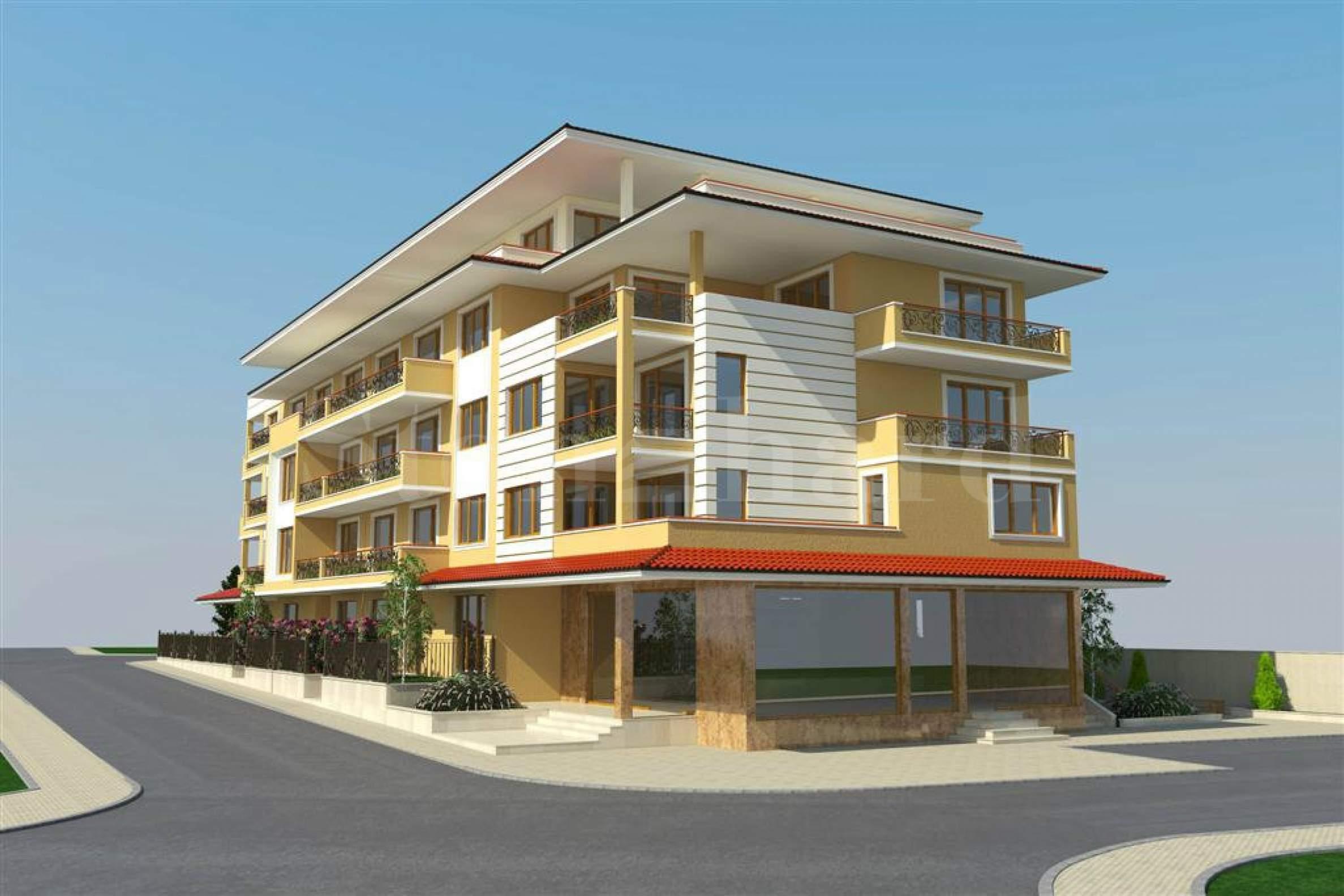 Великолепни апартаменти в живописен район на 100 м от плажа1 - Stonehard
