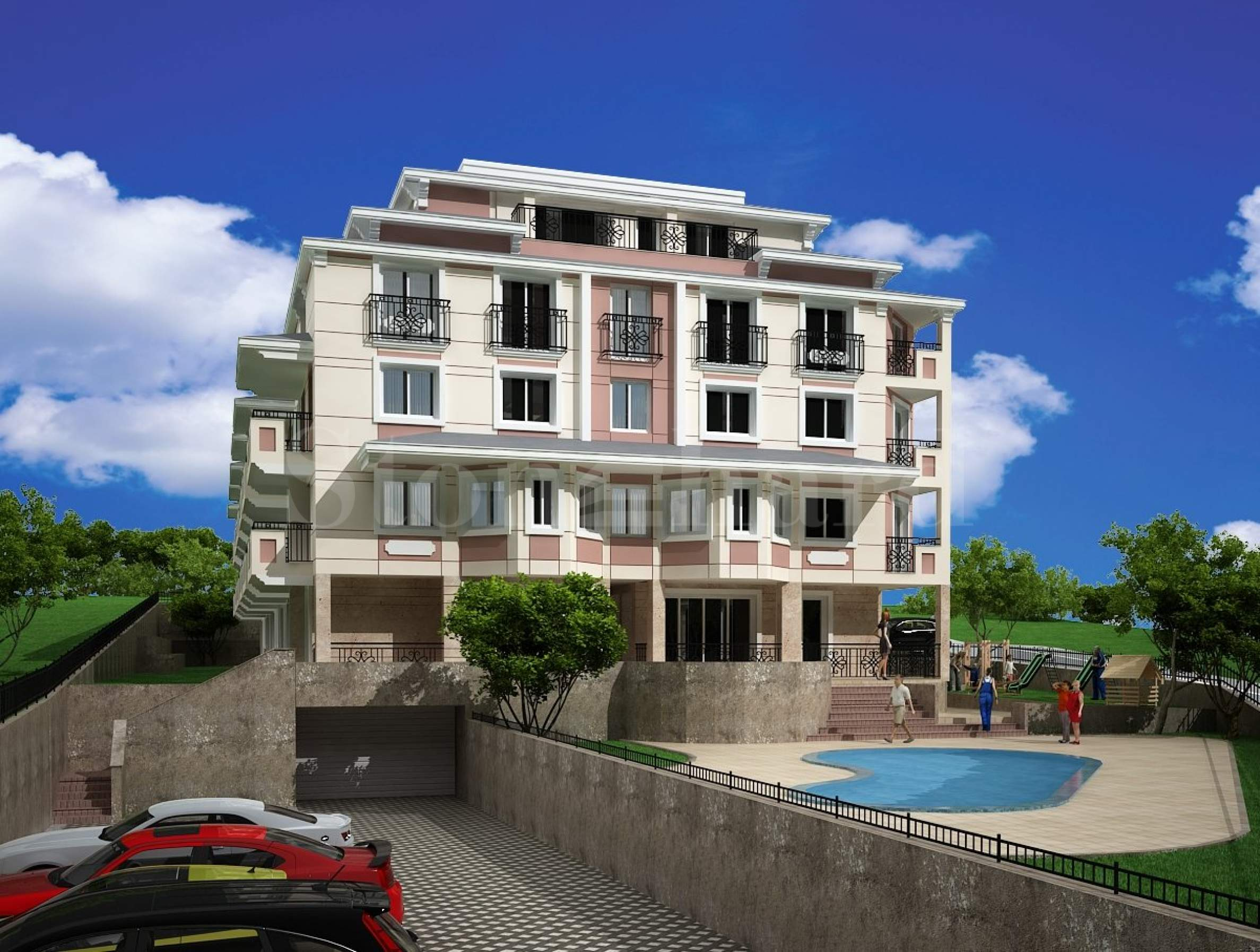 Luxurious apartments and penthouses in Dragalevtsi2 - Stonehard