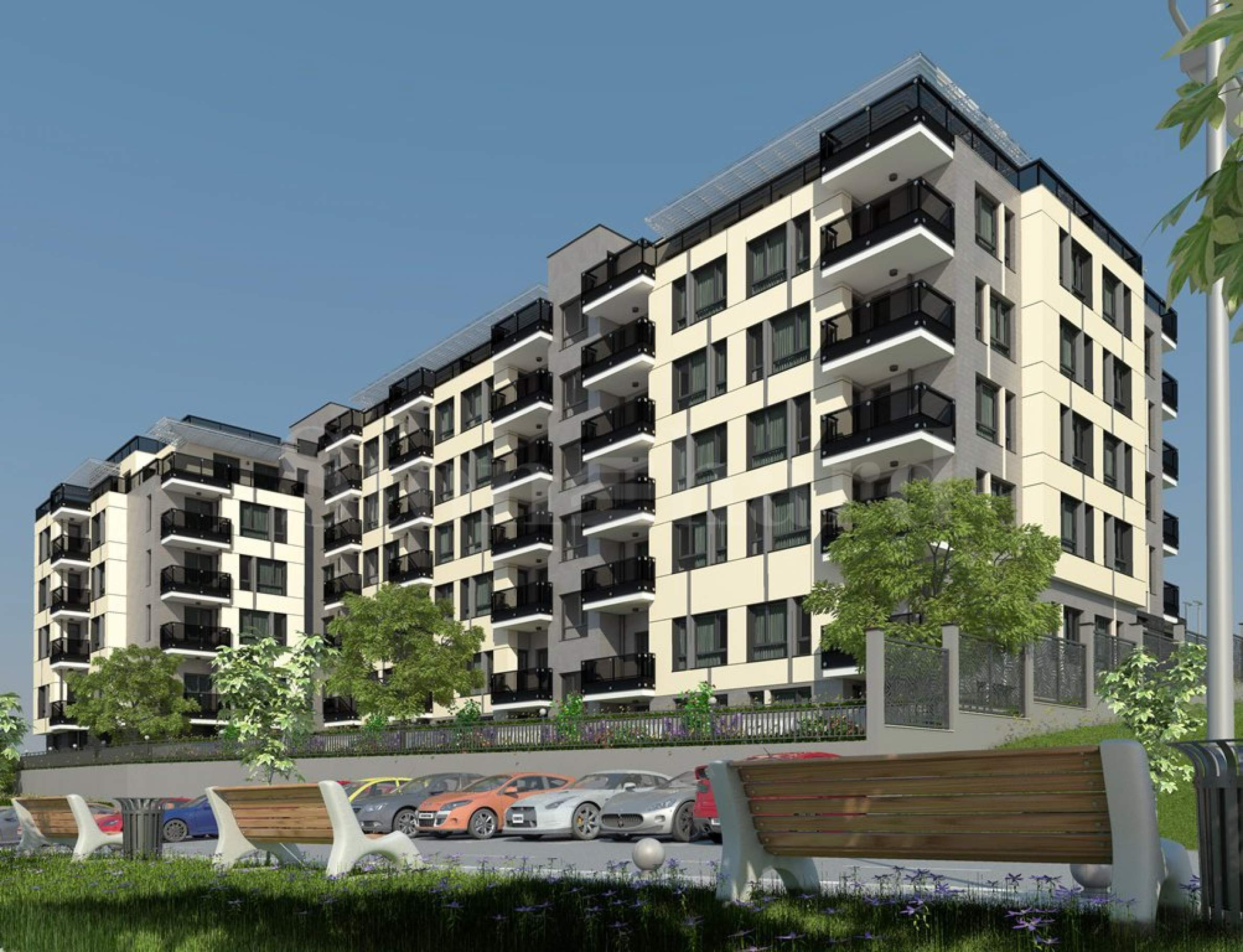 New apartments in communicative and desirable neighborhood1 - Stonehard