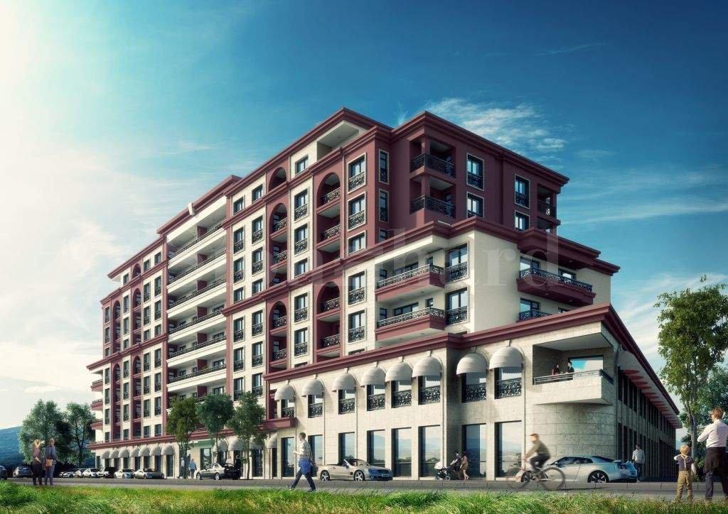 Нов жилищен комплекс с офиси и магазини в жк