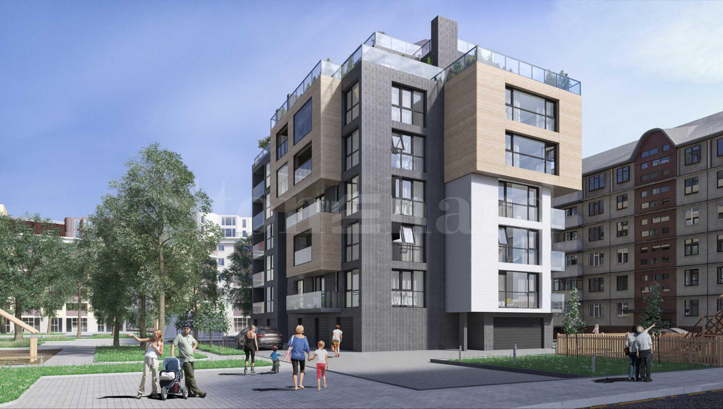 Многофункционална сграда с отлично местоположение, кв. Борово2 - Stonehard