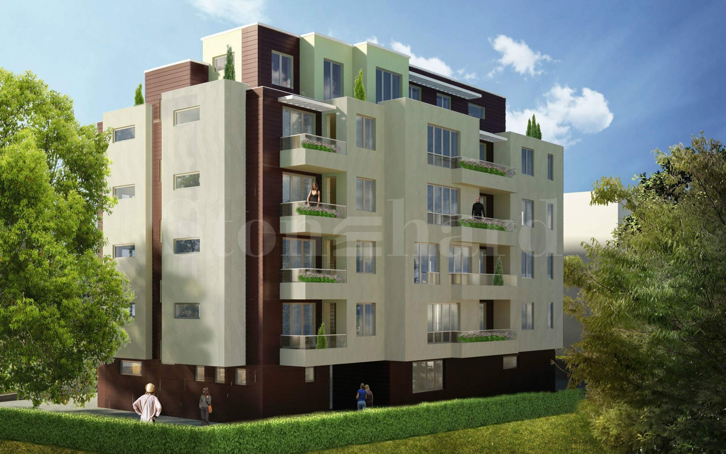 Nice residential building, strategically located in Boyana district1 - Stonehard