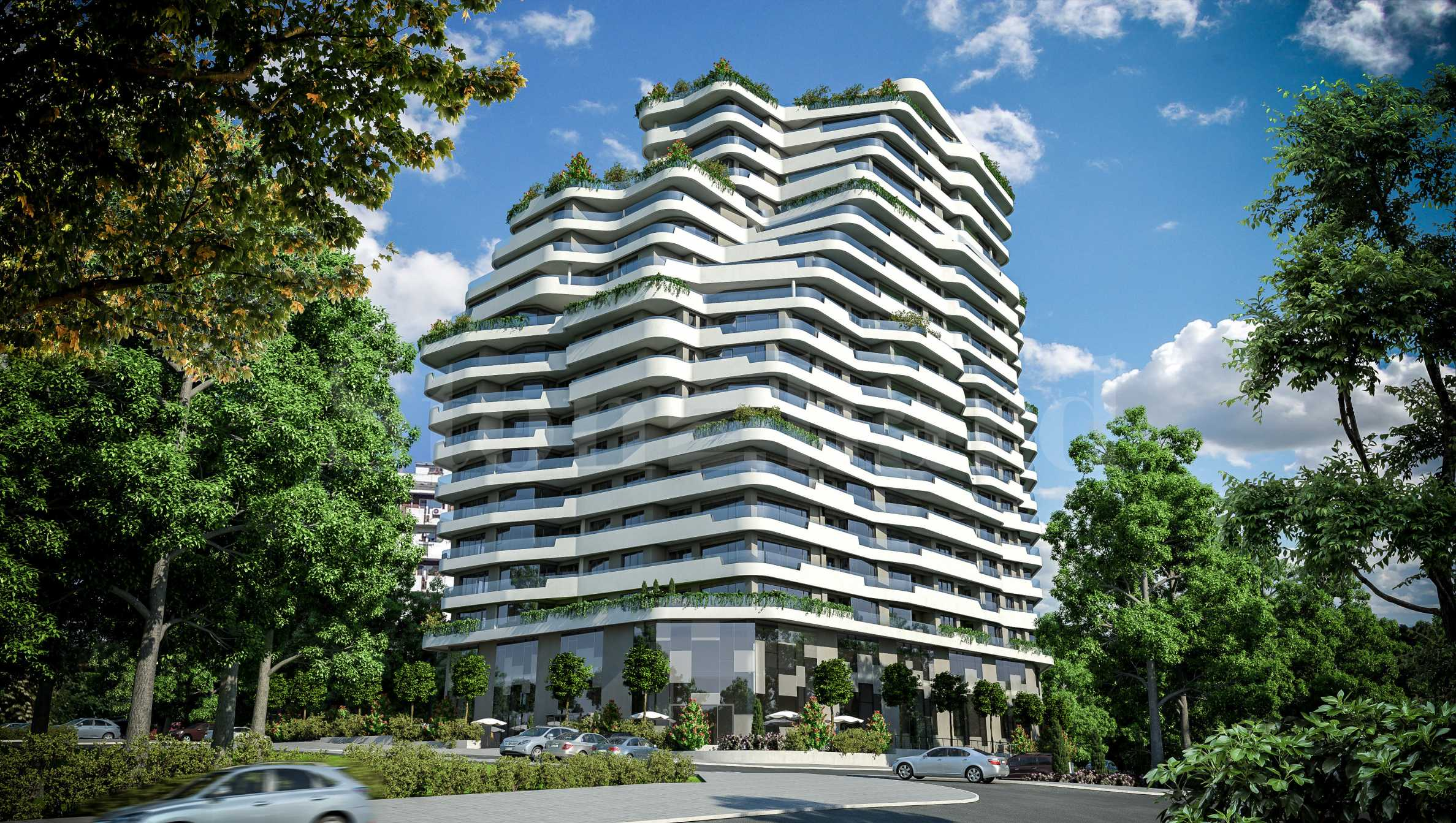 Apartments in a complex with innovative technologies1 - Stonehard