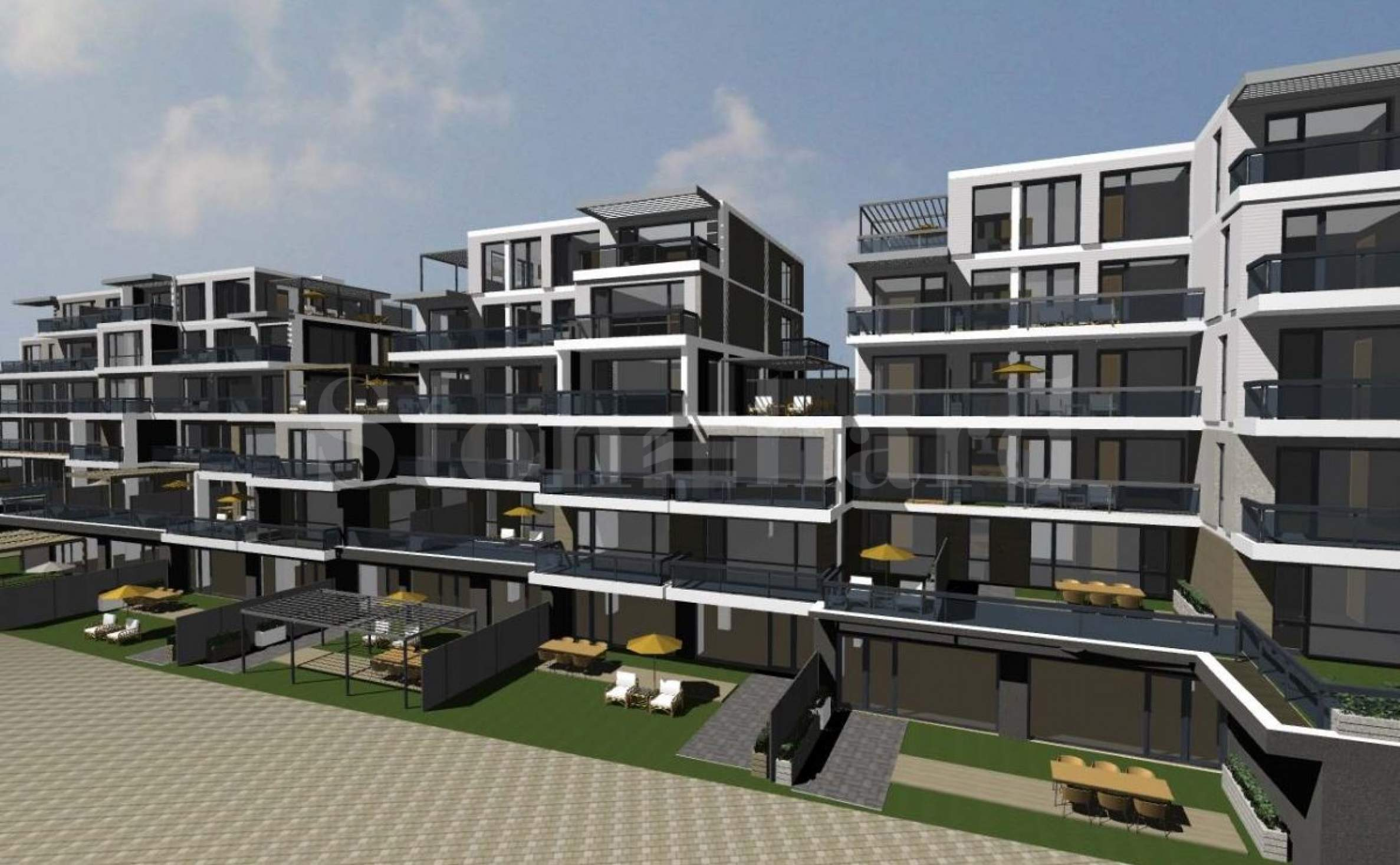 Completed residential building in the central part of Sofia1 - Stonehard