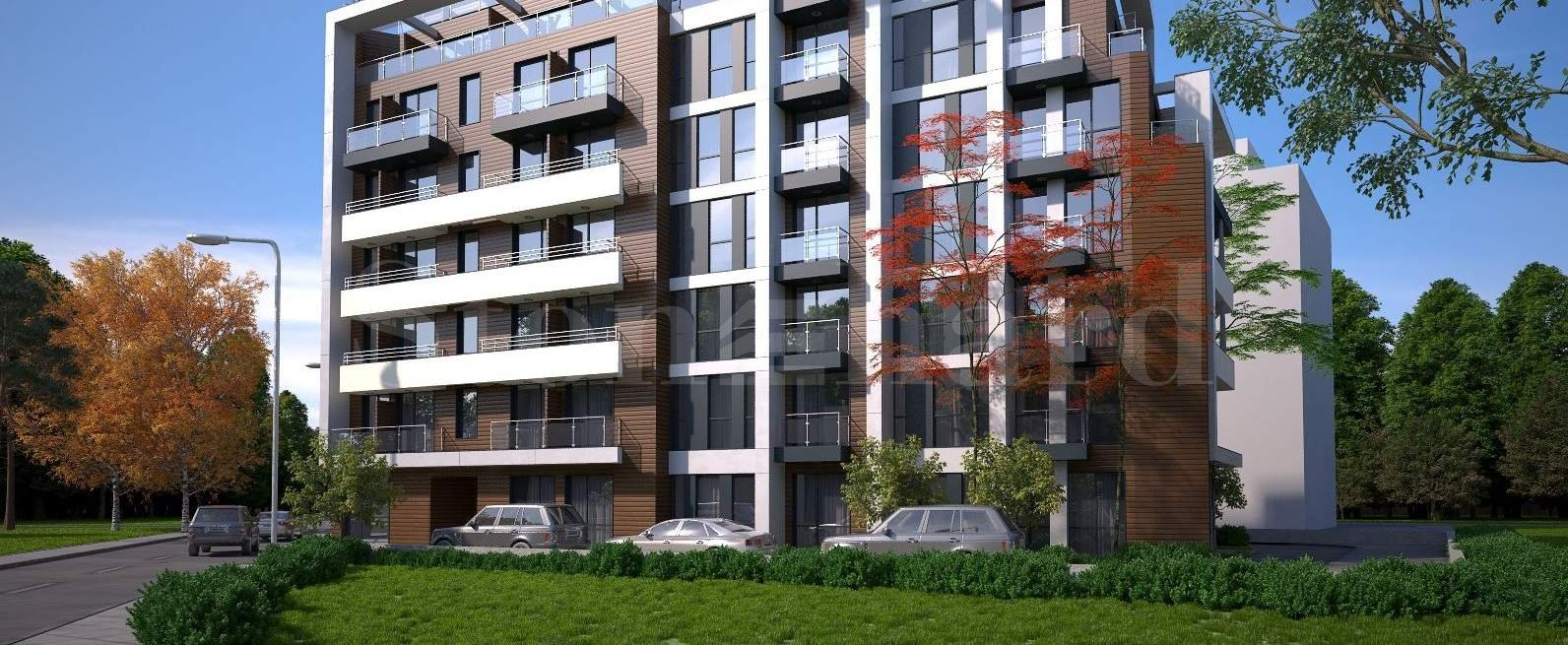 New stylish apartments near a university in the Sudents' town2 - Stonehard