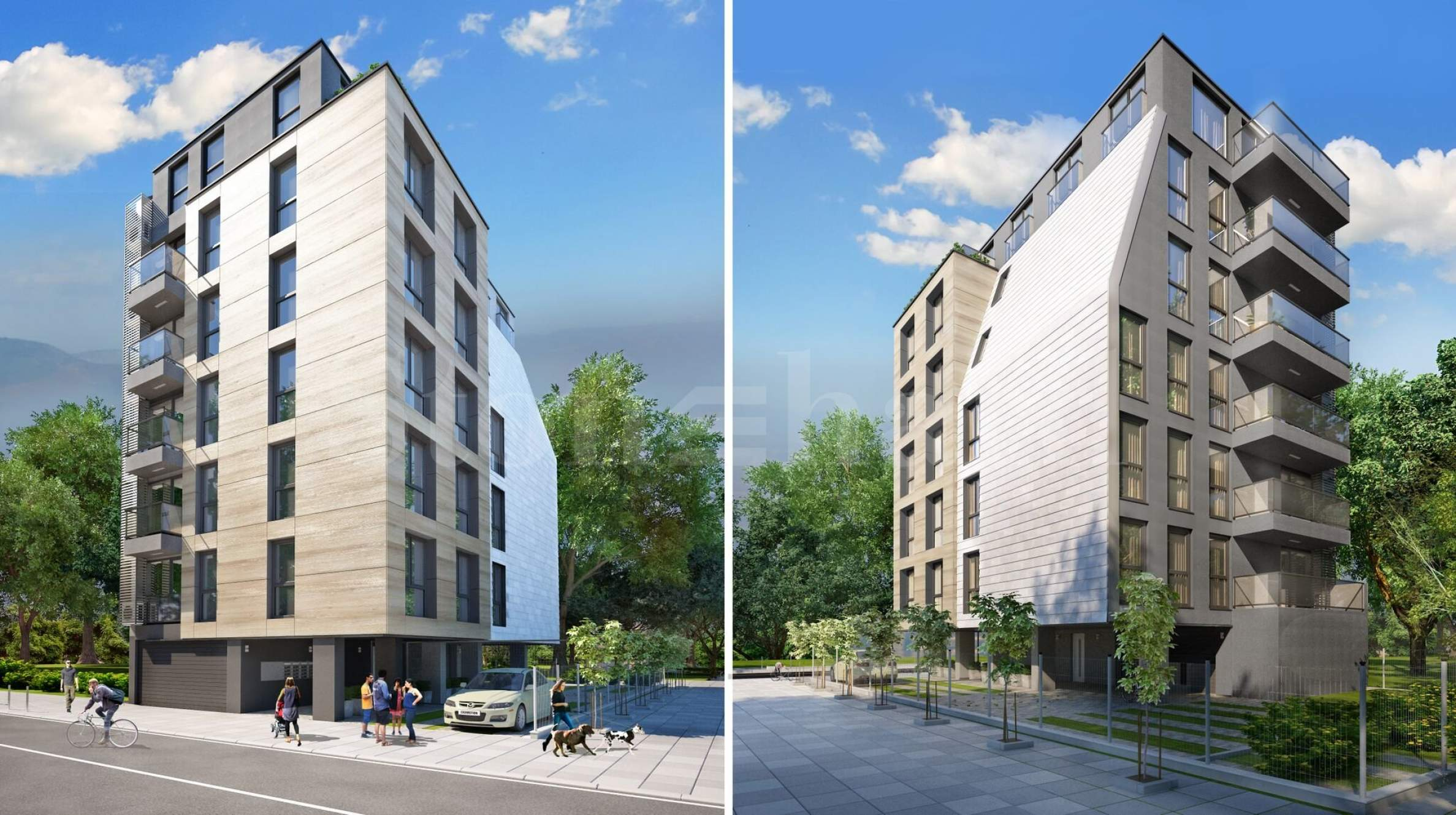 New building with only 10 apartments in the central part of Sofia1 - Stonehard