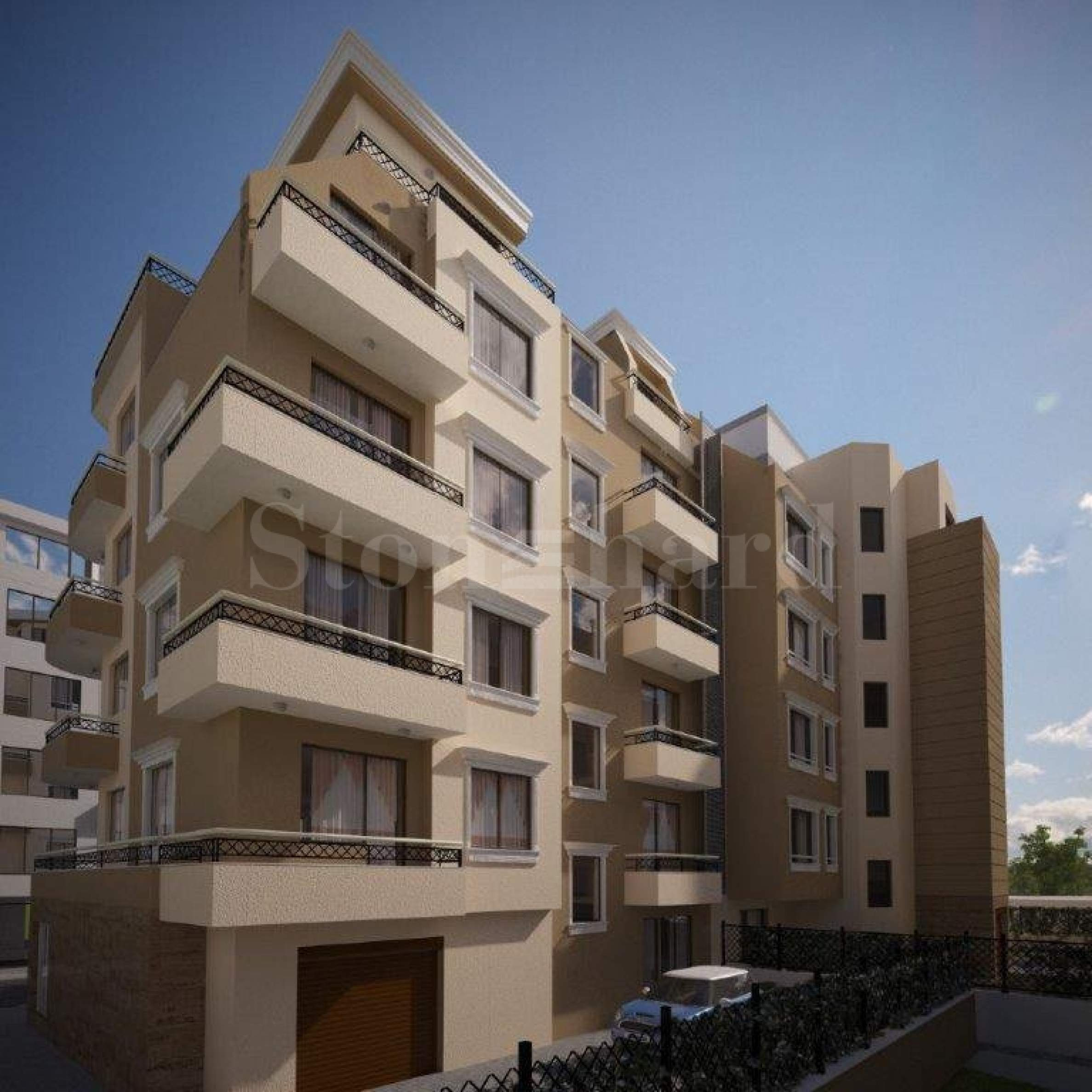 New residential complex 500 m from the Sea Garden2 - Stonehard
