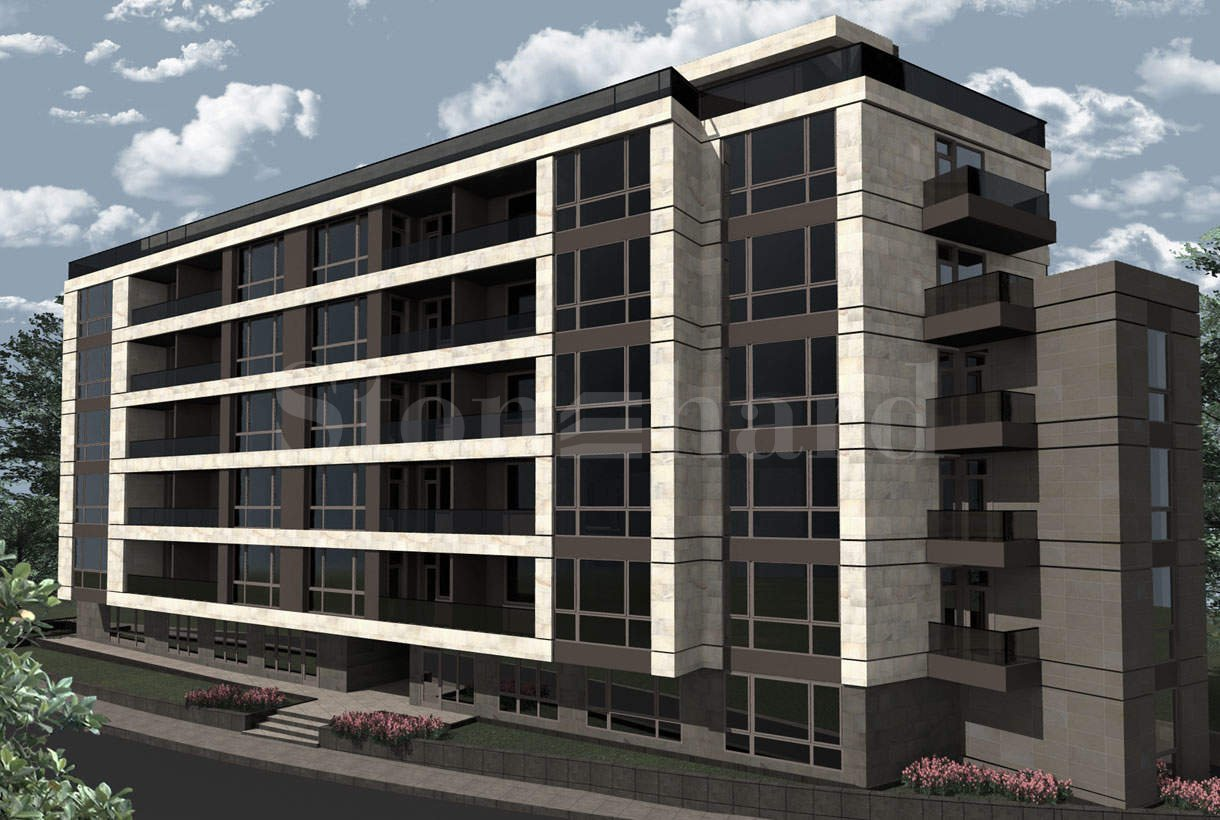 Modern building with apartments and offices near Bulgaria Blvd.1 - Stonehard