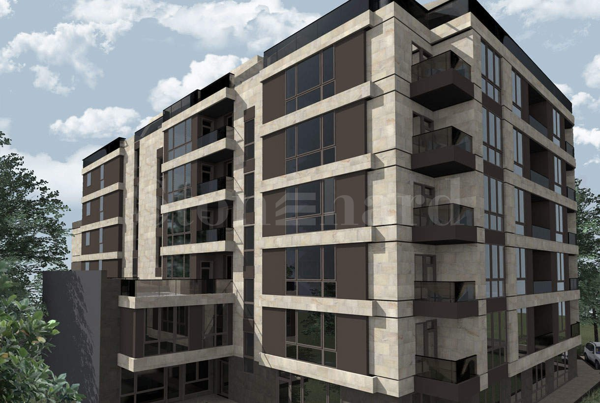Modern building with apartments and offices near Bulgaria Blvd.2 - Stonehard