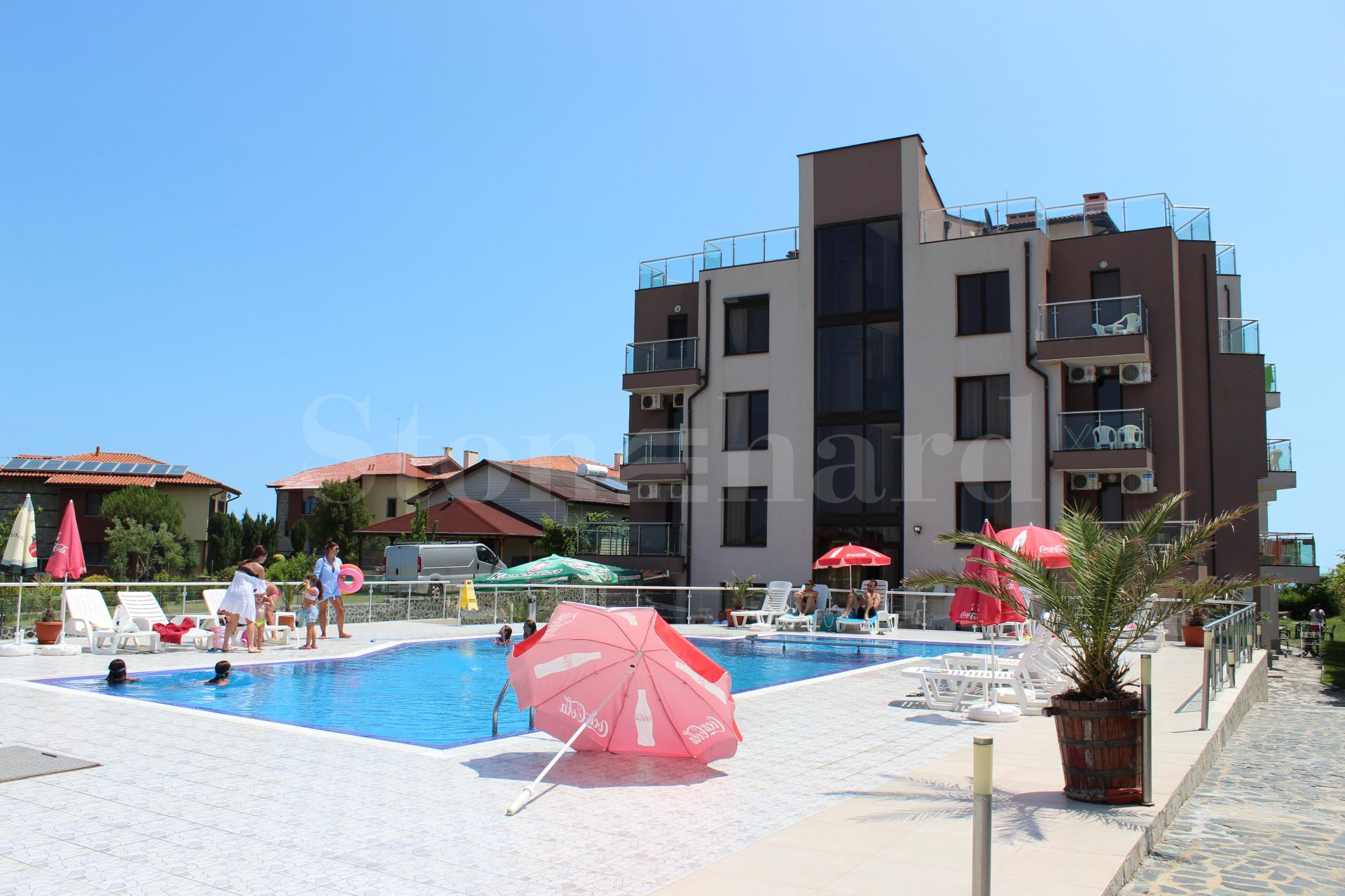 Нови апартаменти на брега на морето в Синеморец2 - Stonehard